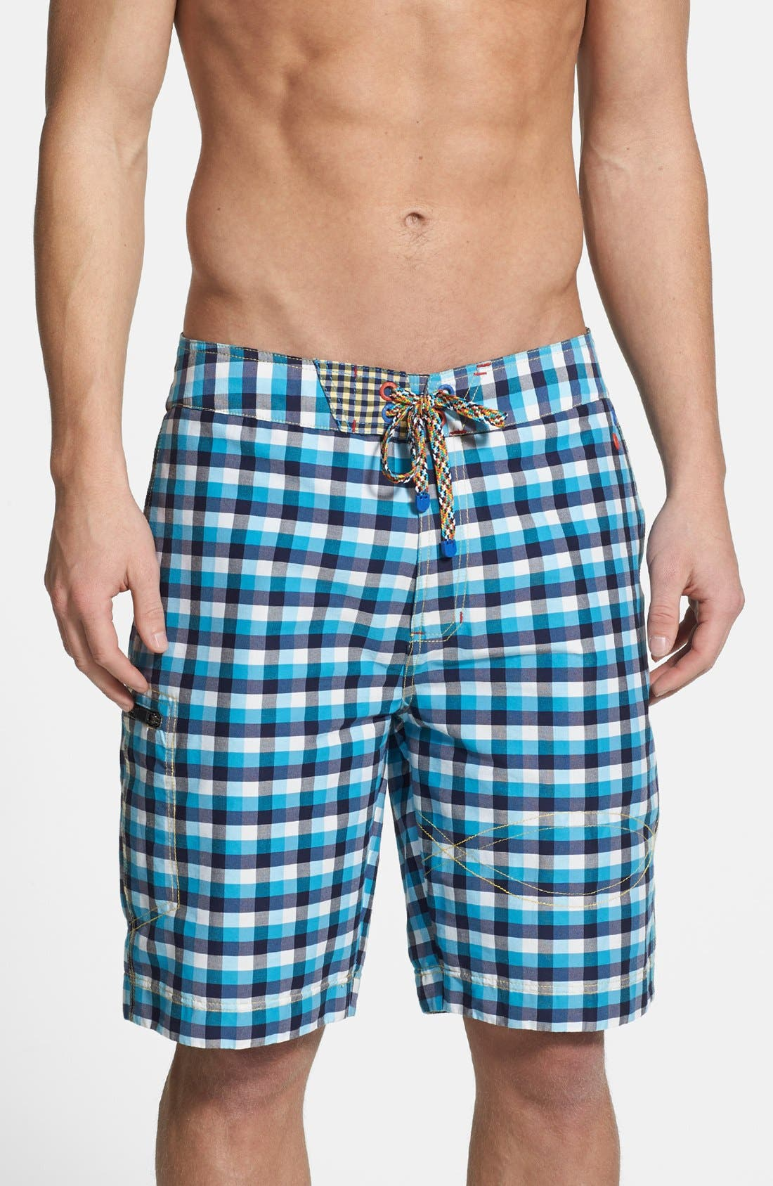 Main Image - Robert Graham 'Williamson' Classic Fit Board Shorts