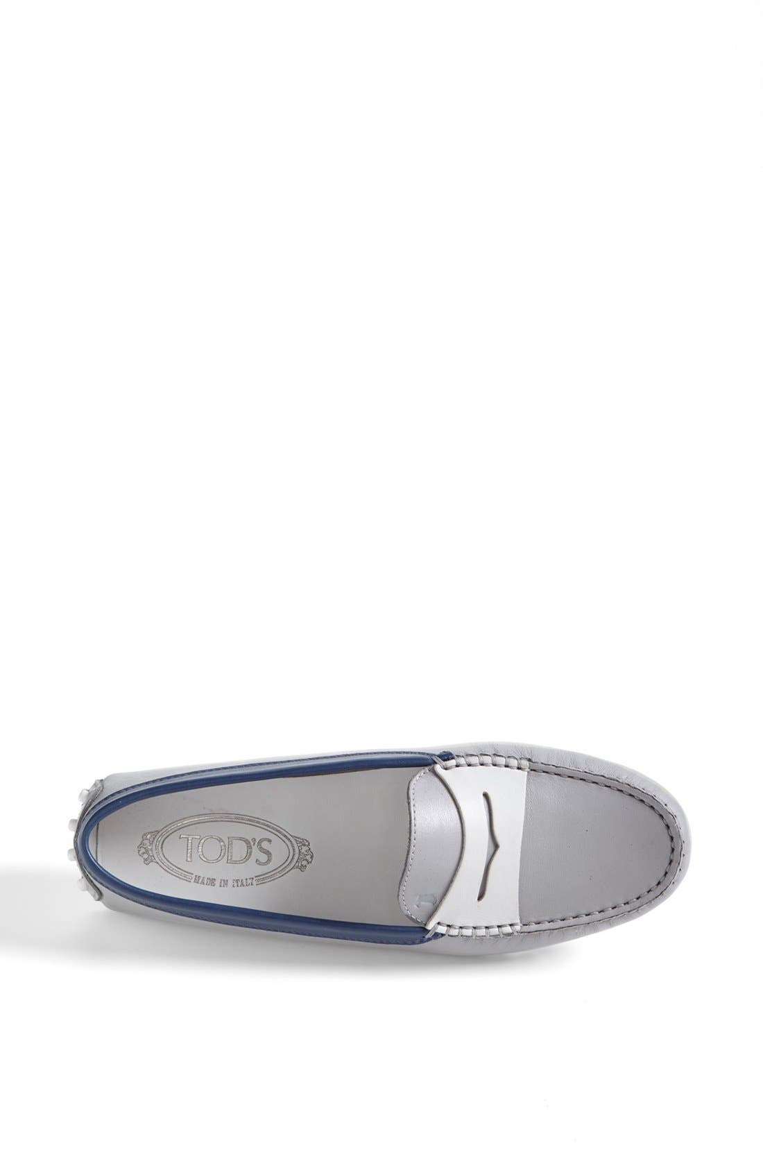 Alternate Image 3  - Tod's 'Gommini' Colorblocked Leather Driving Moccasin