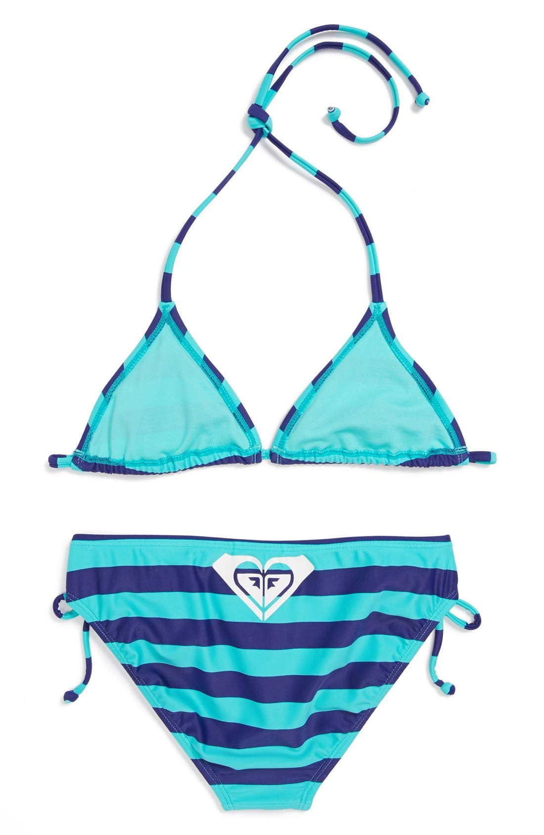 Alternate Image 2  - Roxy Two-Piece Swimsuit (Big Girls)(Online Only)