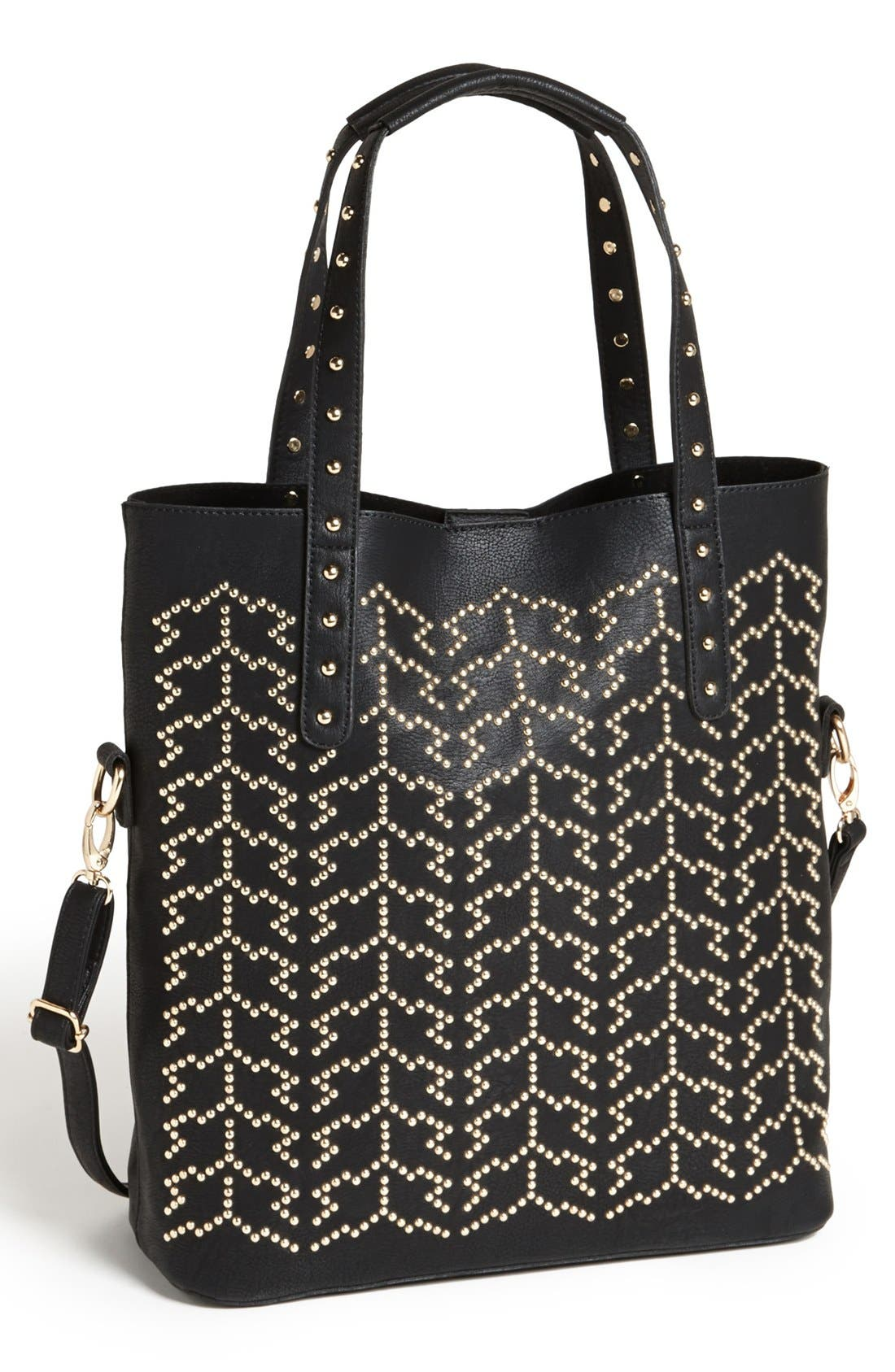 Alternate Image 1 Selected - Street Level Stud Tote
