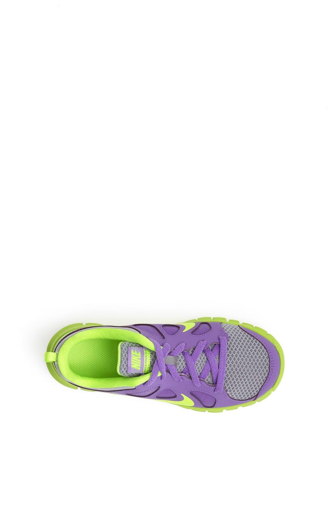'Free Run 5.0' Running Shoe,                             Alternate thumbnail 3, color,                             Atomic Violet/ Volt/ White