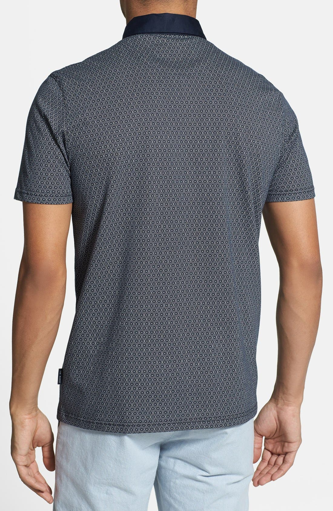 Alternate Image 2  - Ted Baker London 'Elwhite' Graphic Print Polo