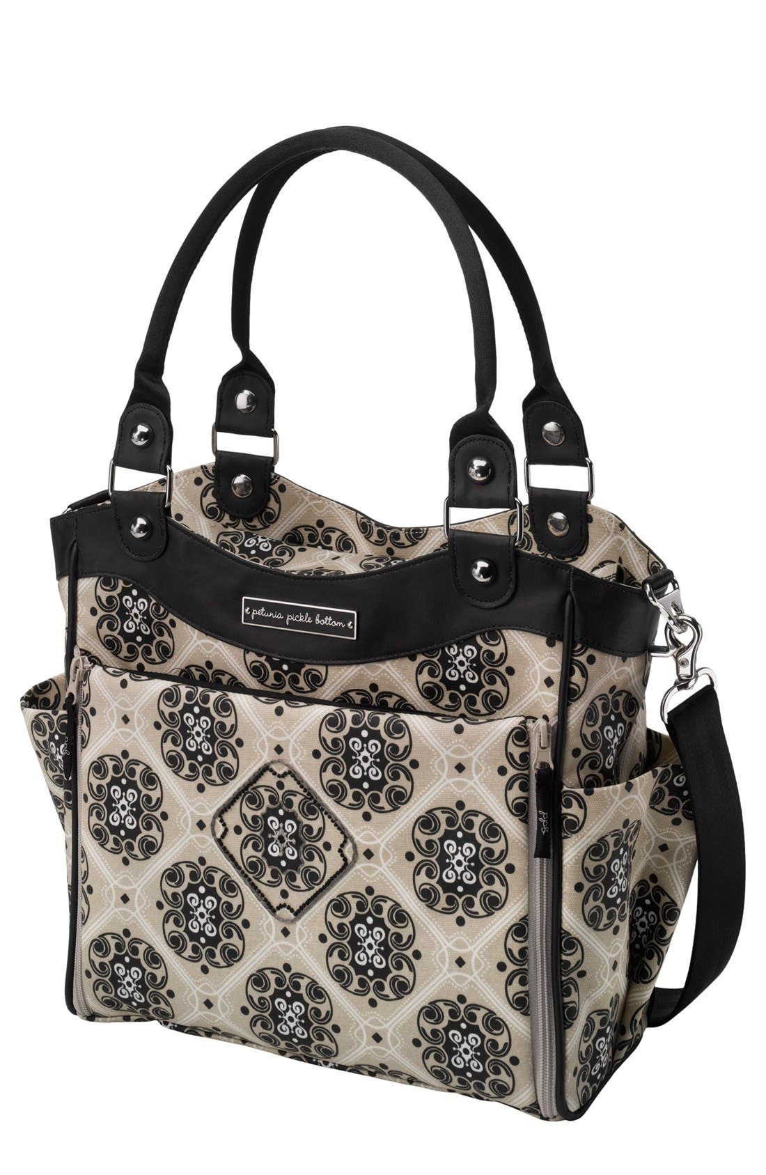 Alternate Image 1 Selected - Petunia Pickle Bottom 'City Carryall' Glazed Diaper Bag