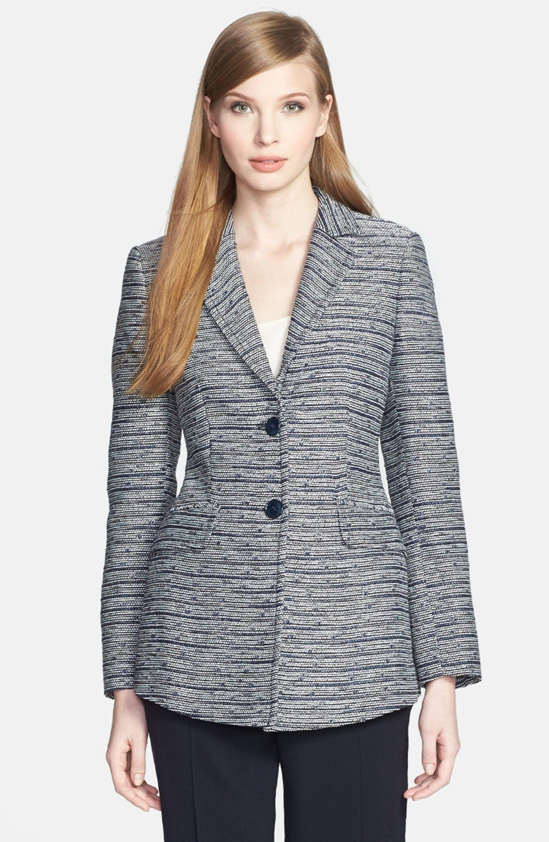Alternate Image 1 Selected - Santorelli Tweed Jacket