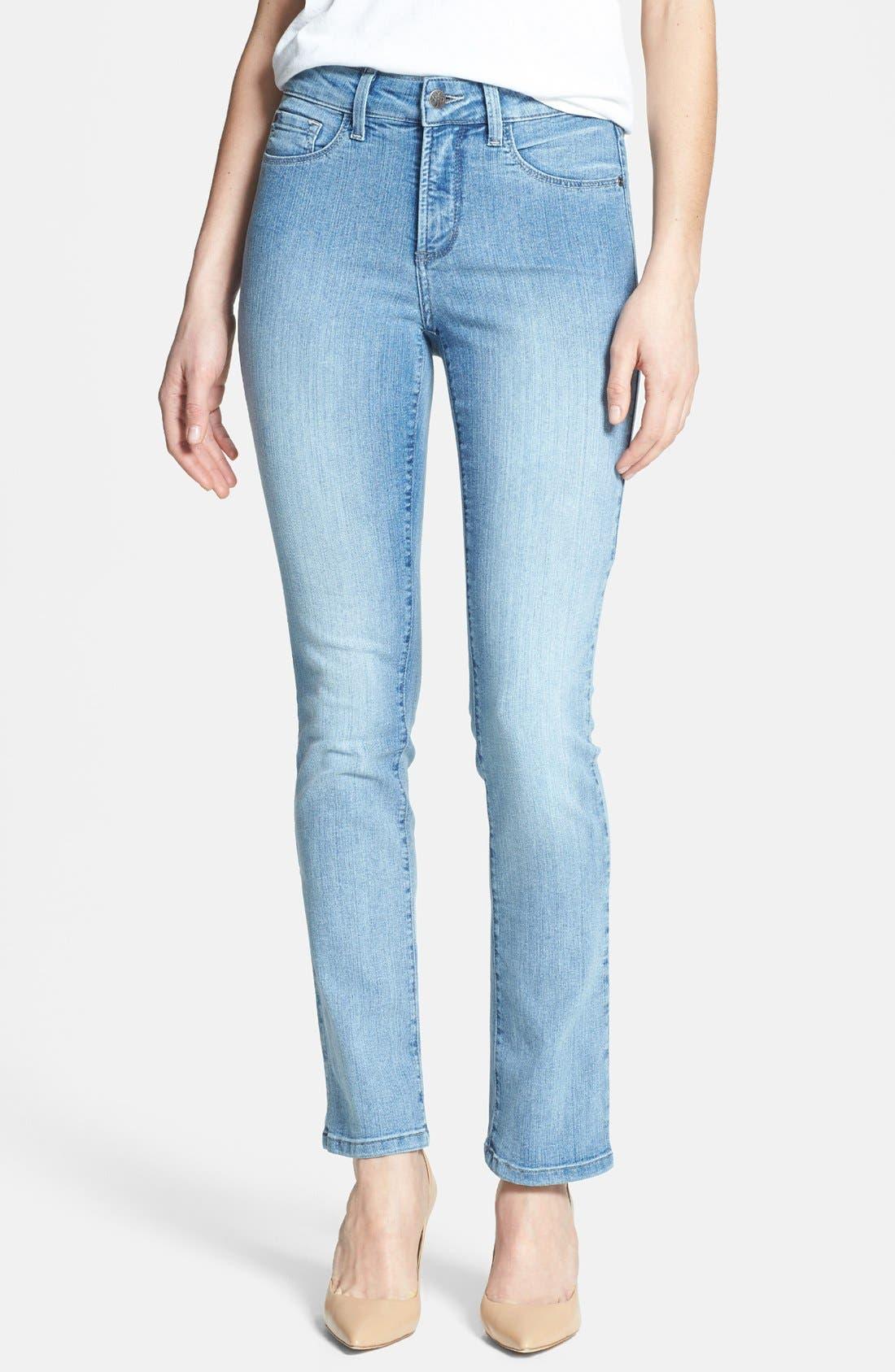 Main Image - NYDJ 'Sheri' Stretch Skinny Jeans (Palos Verdes) (Regular & Petite)