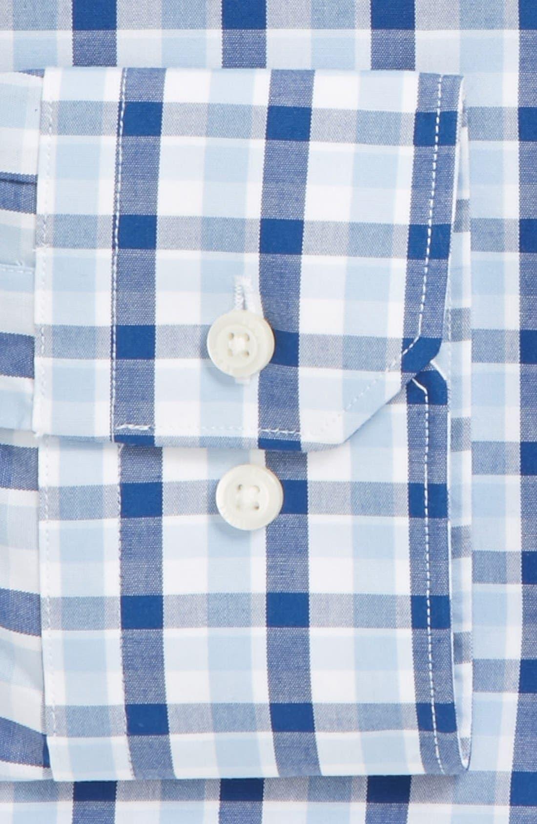 Alternate Image 2  - 1901 Slim Fit Non-Iron Check Dress Shirt