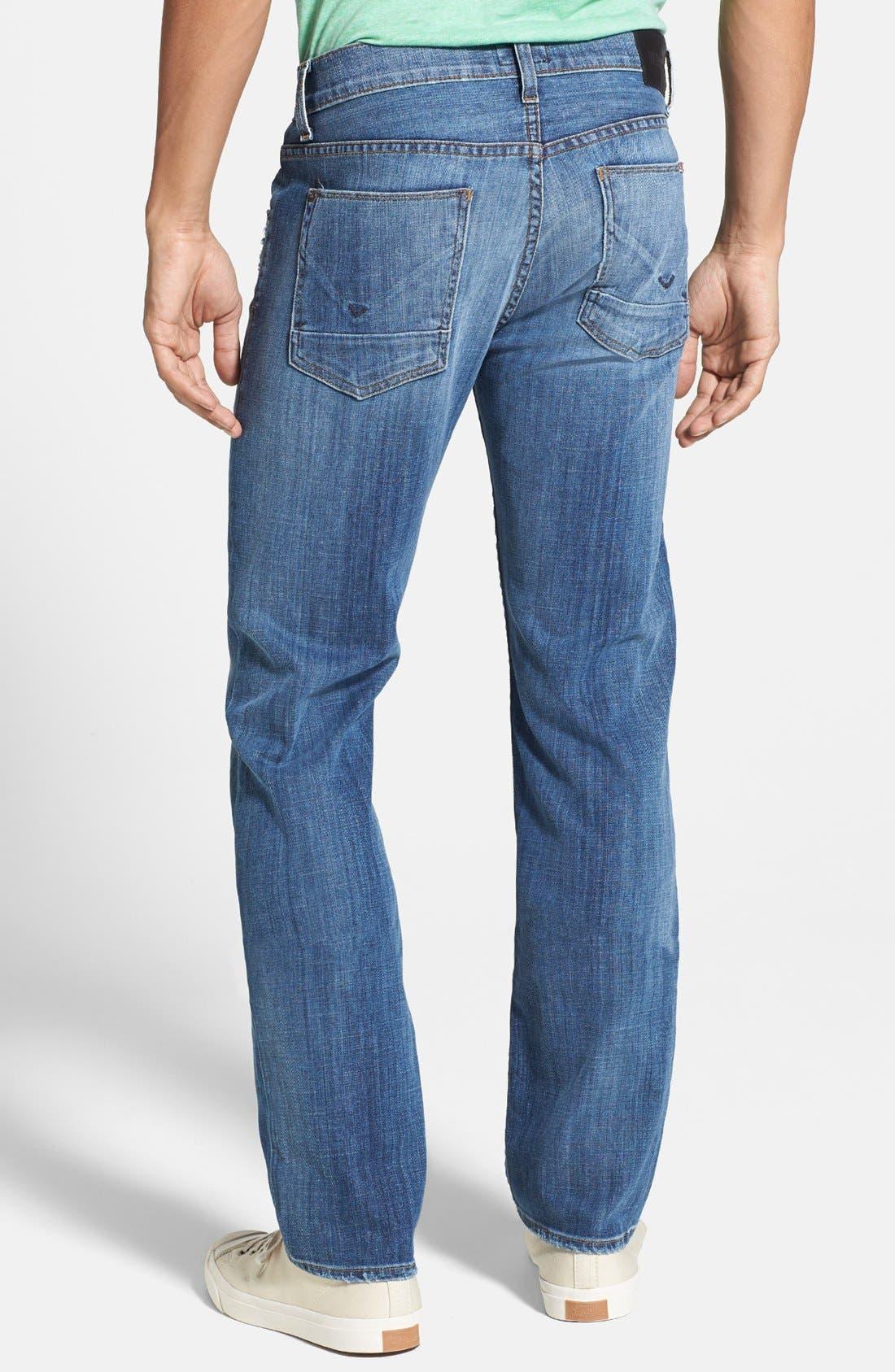 Alternate Image 2  - Hudson Jeans 'Byron' Straight Leg Jeans (Highway)