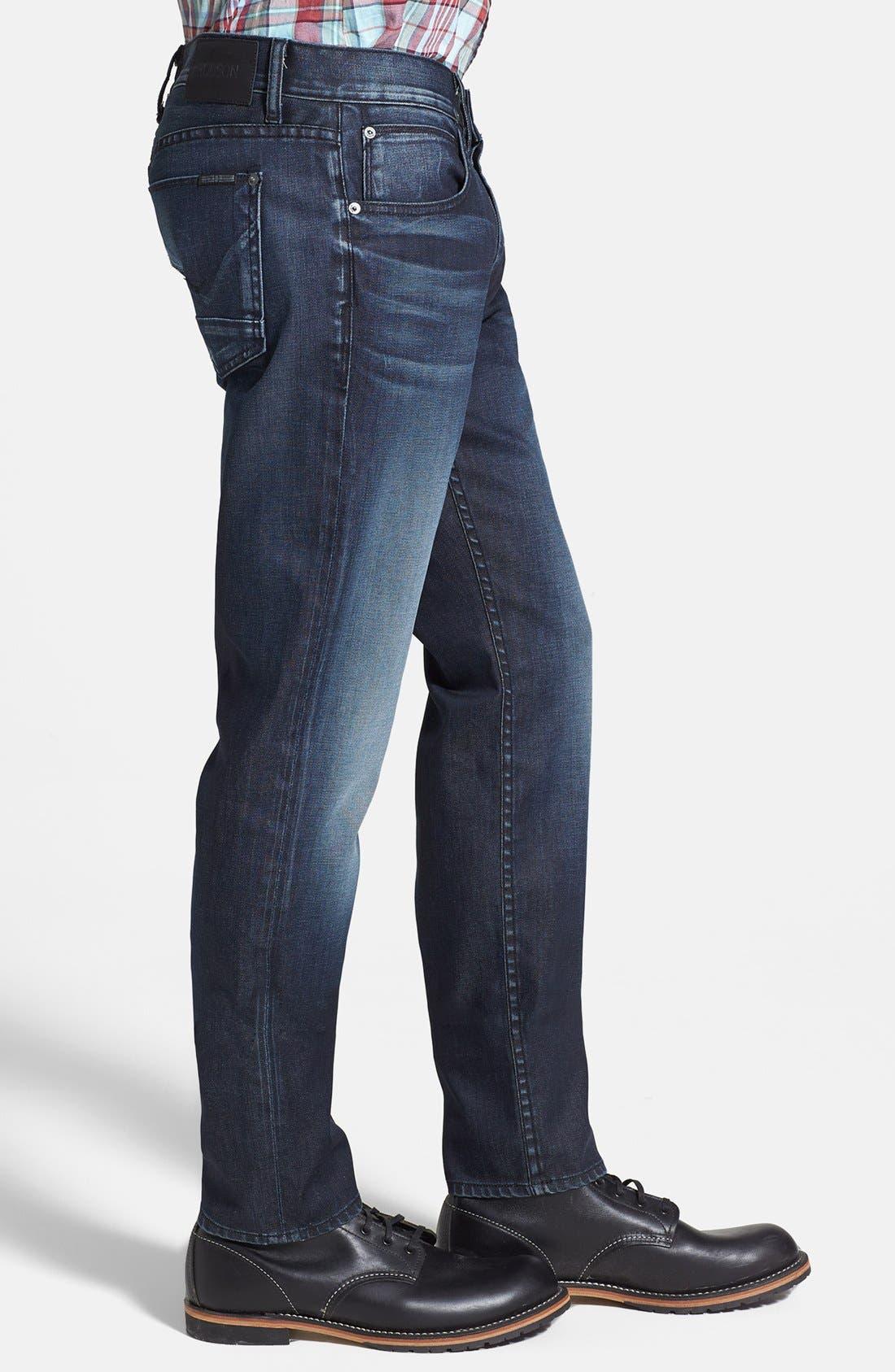 Alternate Image 3  - Hudson Jeans 'Blake' Slim Straight Leg Jeans (Darkness)