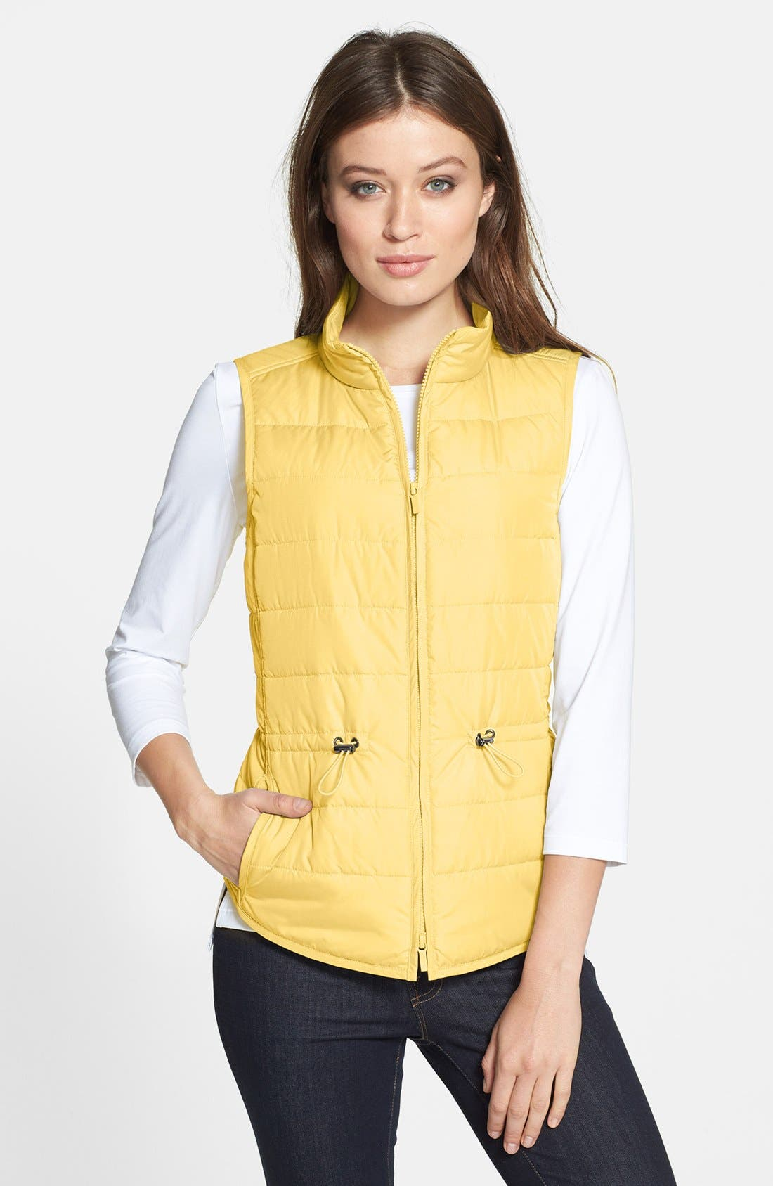 Alternate Image 1 Selected - Lafayette 148 New York Lightweight Vest