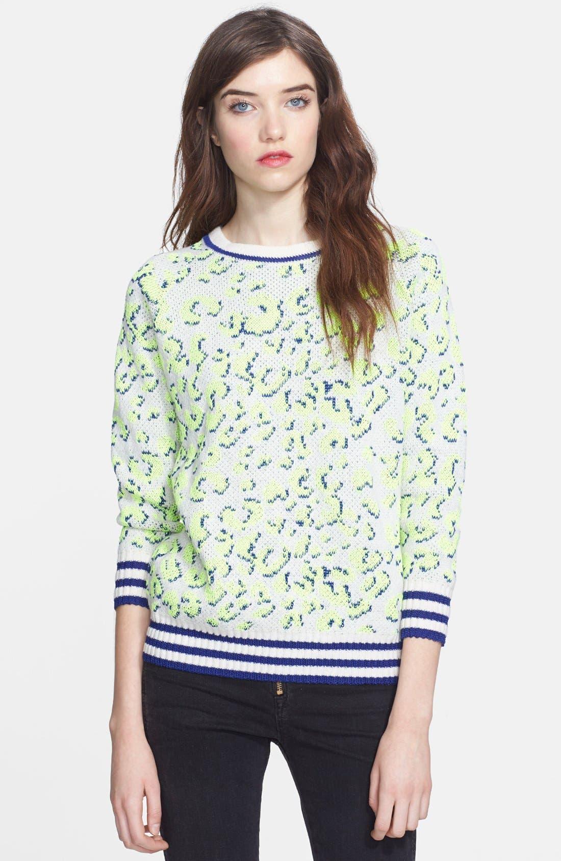 Main Image - Mcginn 'Taylor' Leopard Sweater