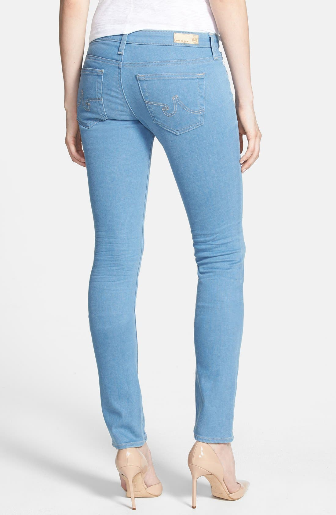 Alternate Image 2  - AG 'Aubrey' Slim Straight Leg Jeans (2 Year Expedition)