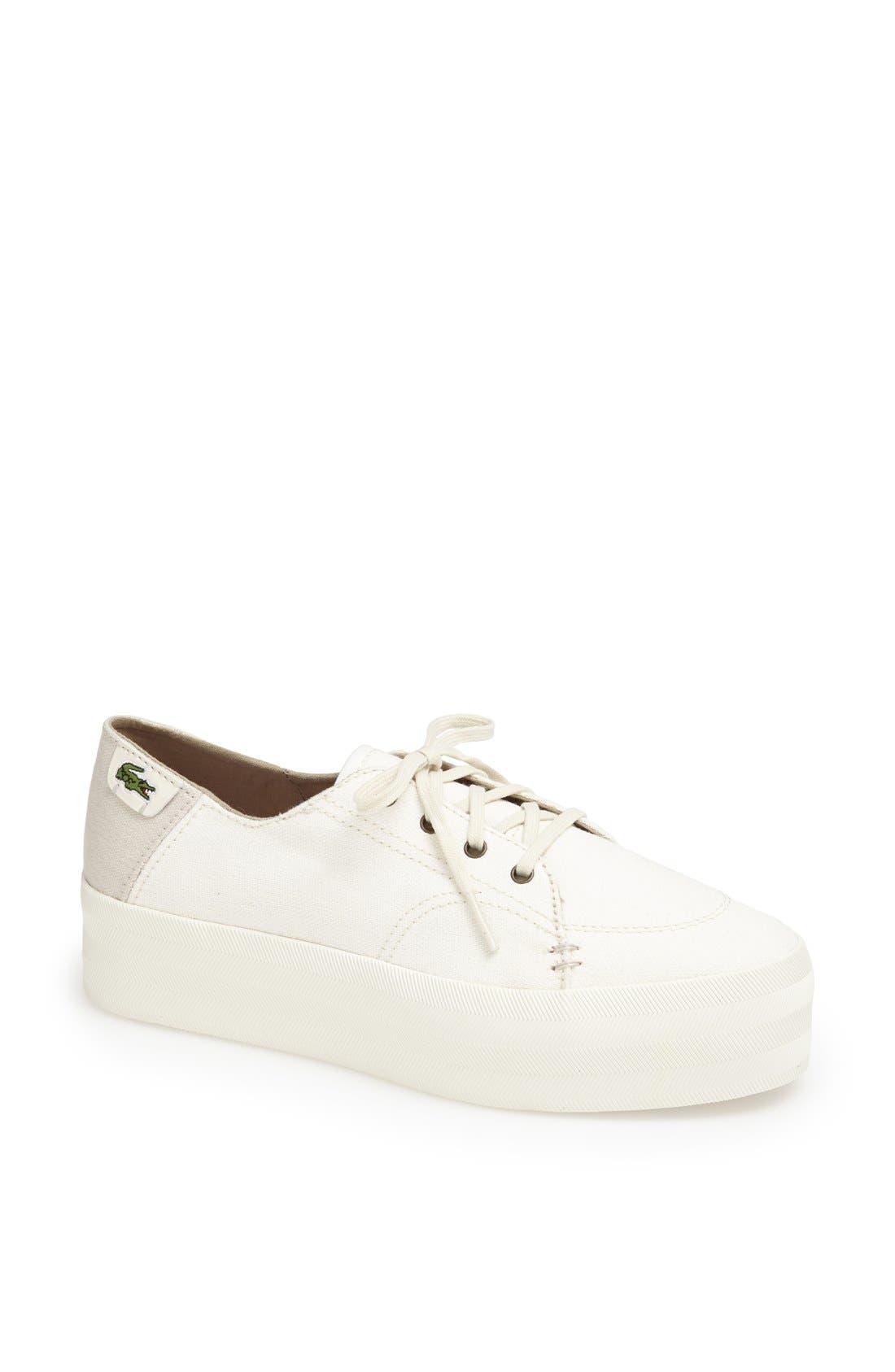 Alternate Image 1 Selected - Lacoste 'Kirton' Platform Sneaker (Women) (Online Exclusive)