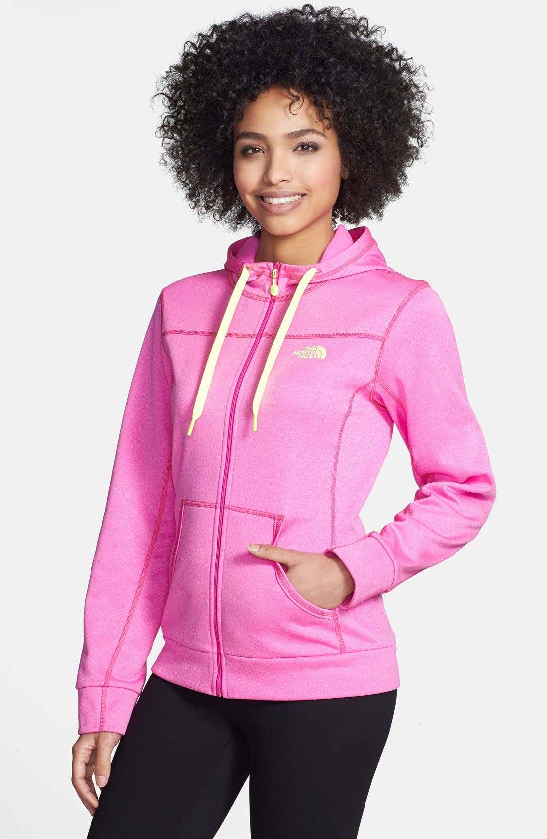Alternate Image 1 Selected - The North Face 'Fave-Our-Ite' Full Zip Hoodie