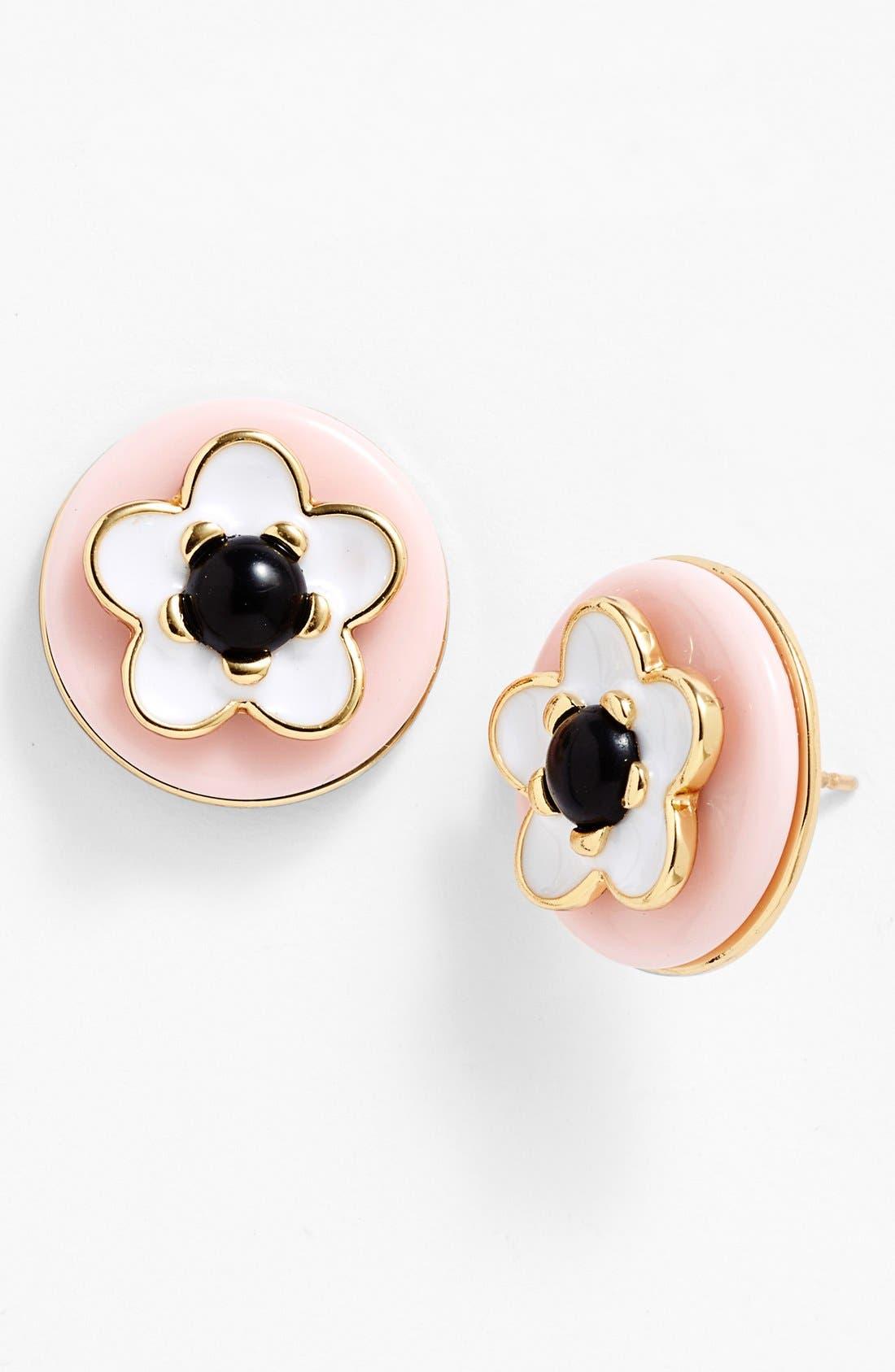 Alternate Image 1 Selected - kate spade new york 'mod flora' stud earrings
