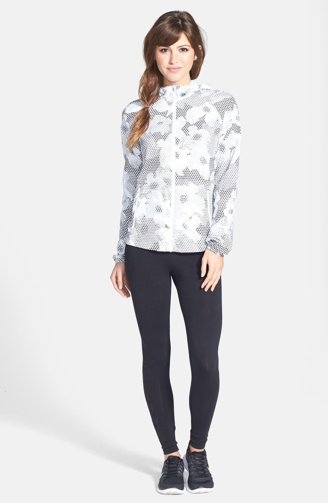 Alternate Image 3  - Nike 'Distance' Print Hooded Jacket
