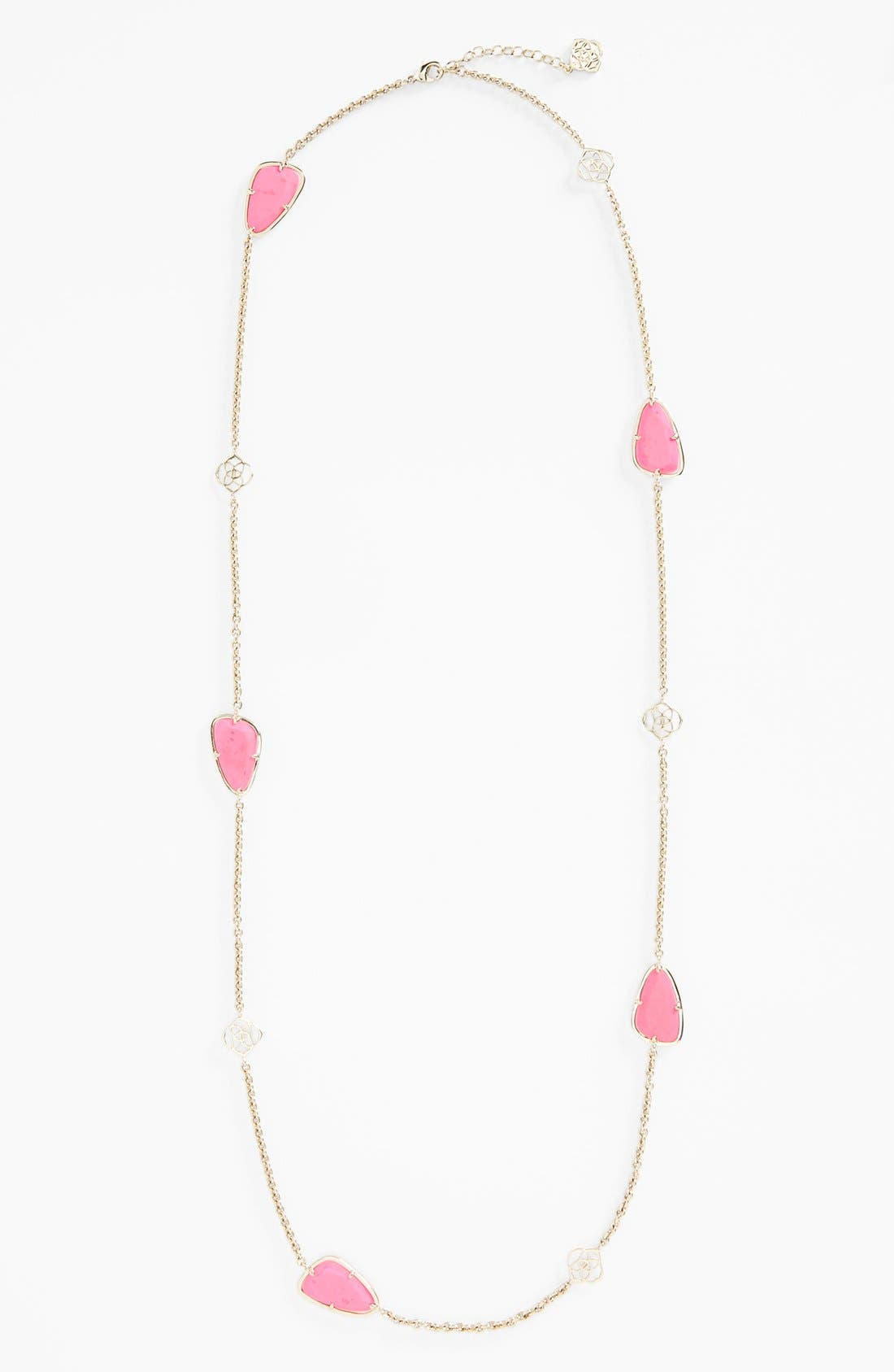 Alternate Image 2  - Kendra Scott 'Kinley' Long Station Necklace (Nordstrom Exclusive)