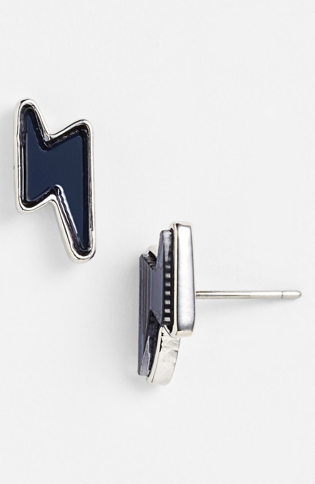 Main Image - MARC BY MARC JACOBS 'Grab & Go Debbies' Lightning Bolt Stud Earrings