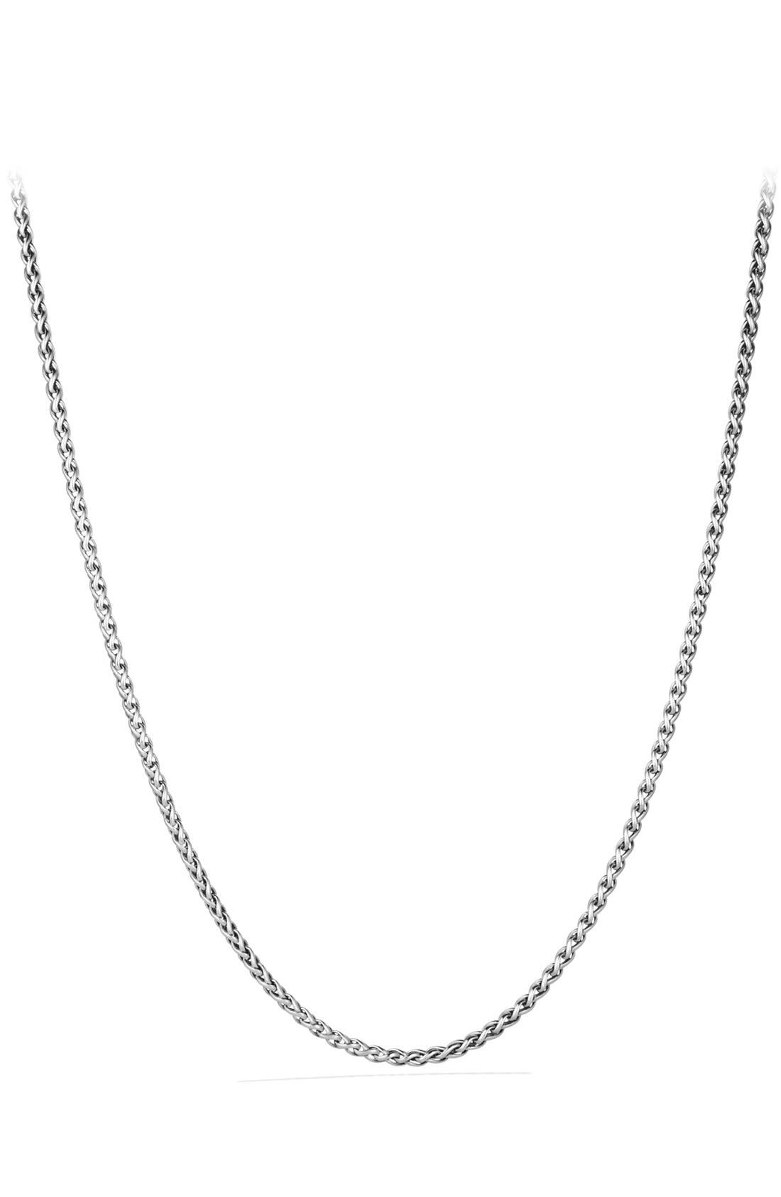 Alternate Image 1 Selected - David Yurman 'Chain' Small Wheat Chain Necklace