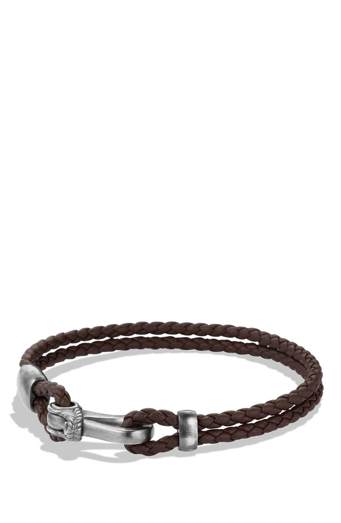 Alternate Image 1 Selected - David Yurman 'Maritime' Anchor Two-Row Bracelet