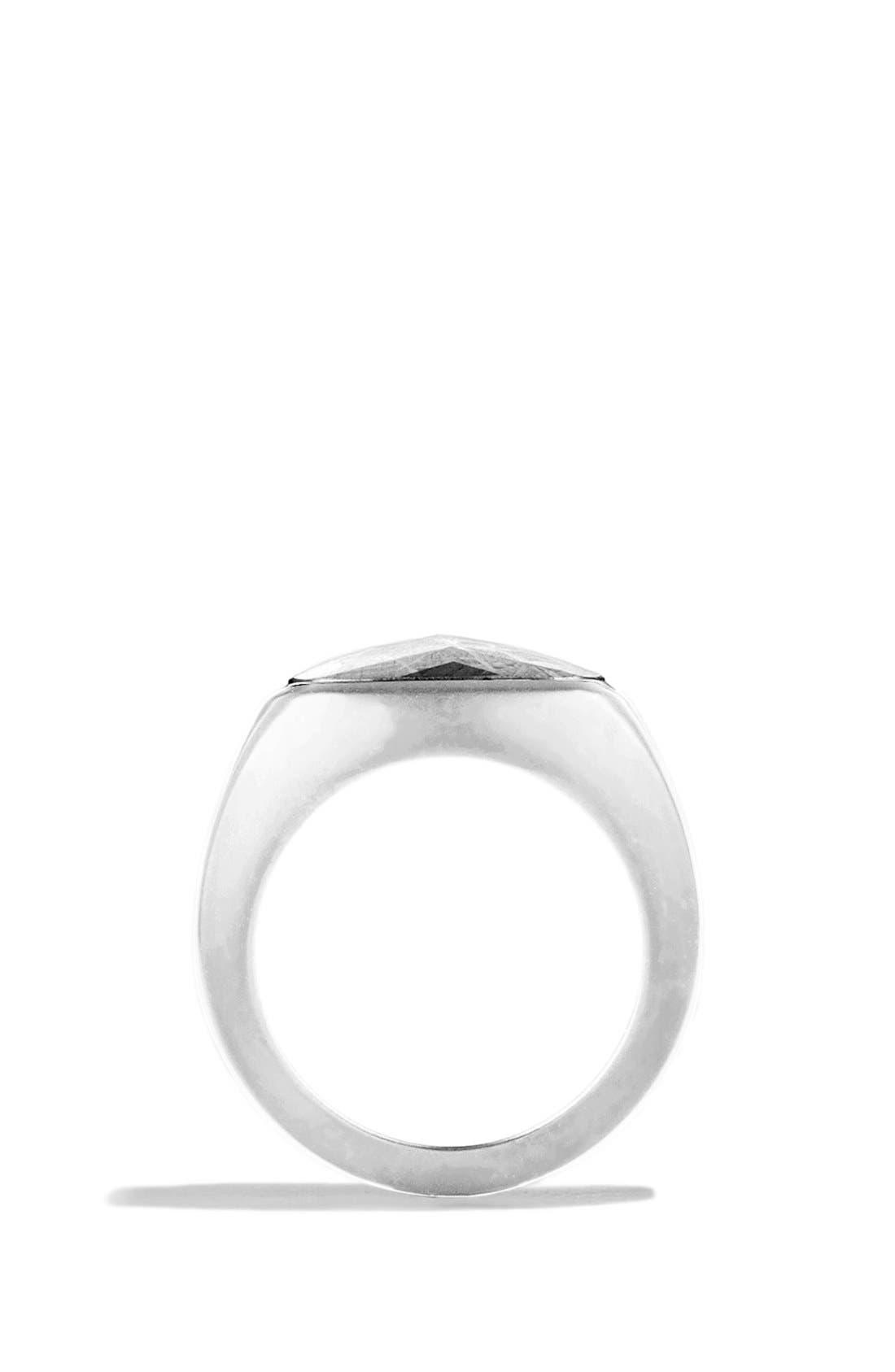 Signet Ring with Meteorite,                             Alternate thumbnail 4, color,                             Meteorite