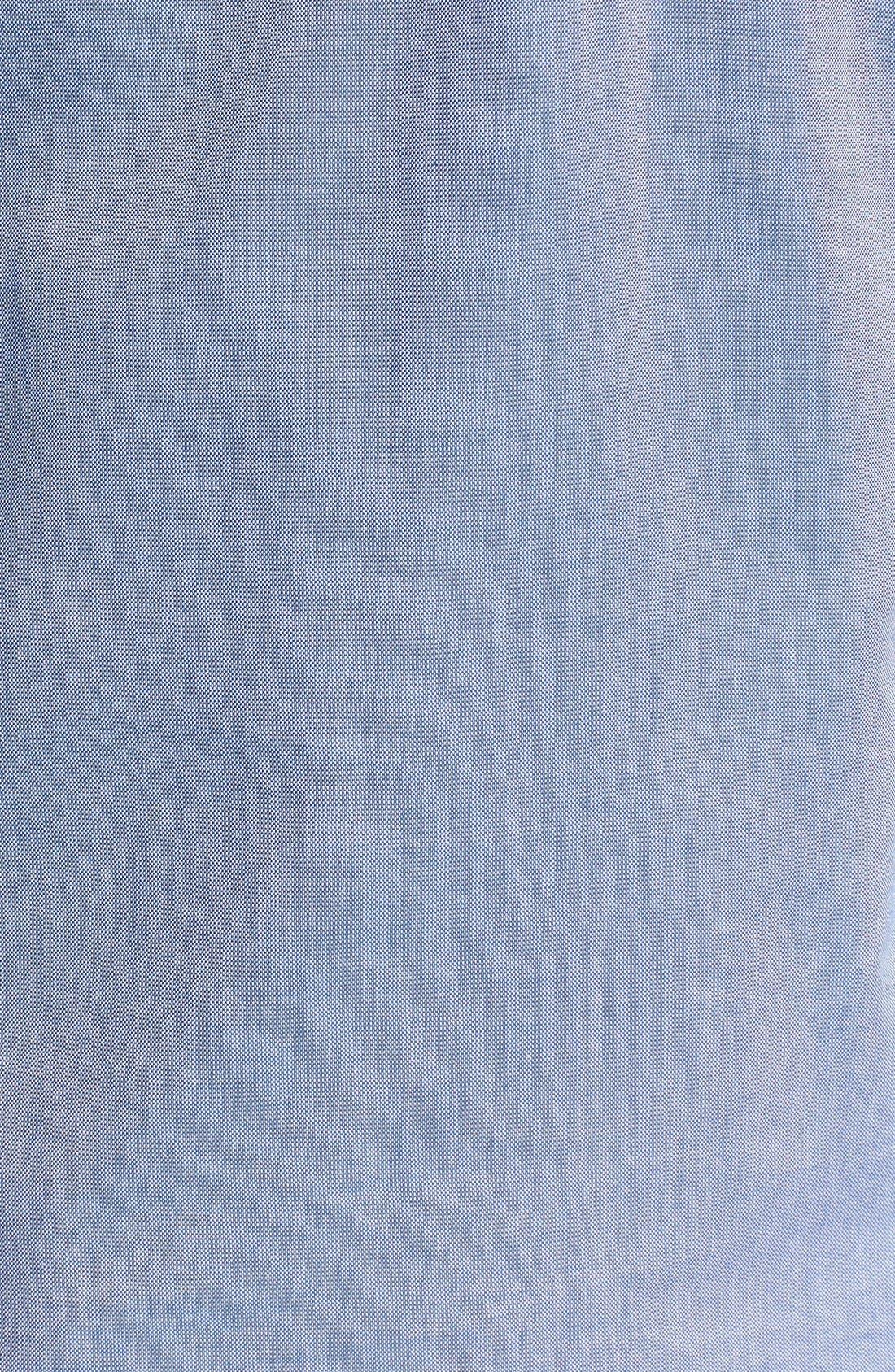 Alternate Image 3  - Gant by Michael Bastian Chest Stripe Hooded Pullover Shirt