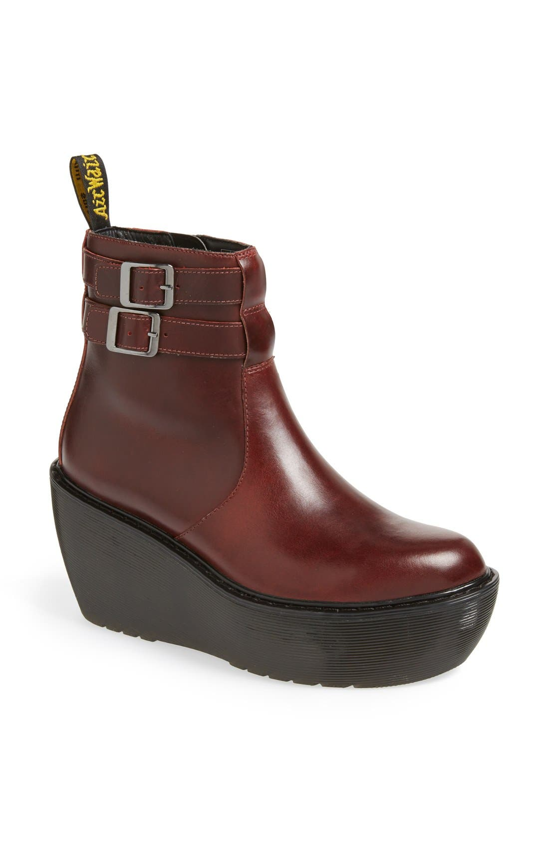 Alternate Image 1 Selected - Dr. Martens 'Caitlin' Two-Strap Ankle Boot
