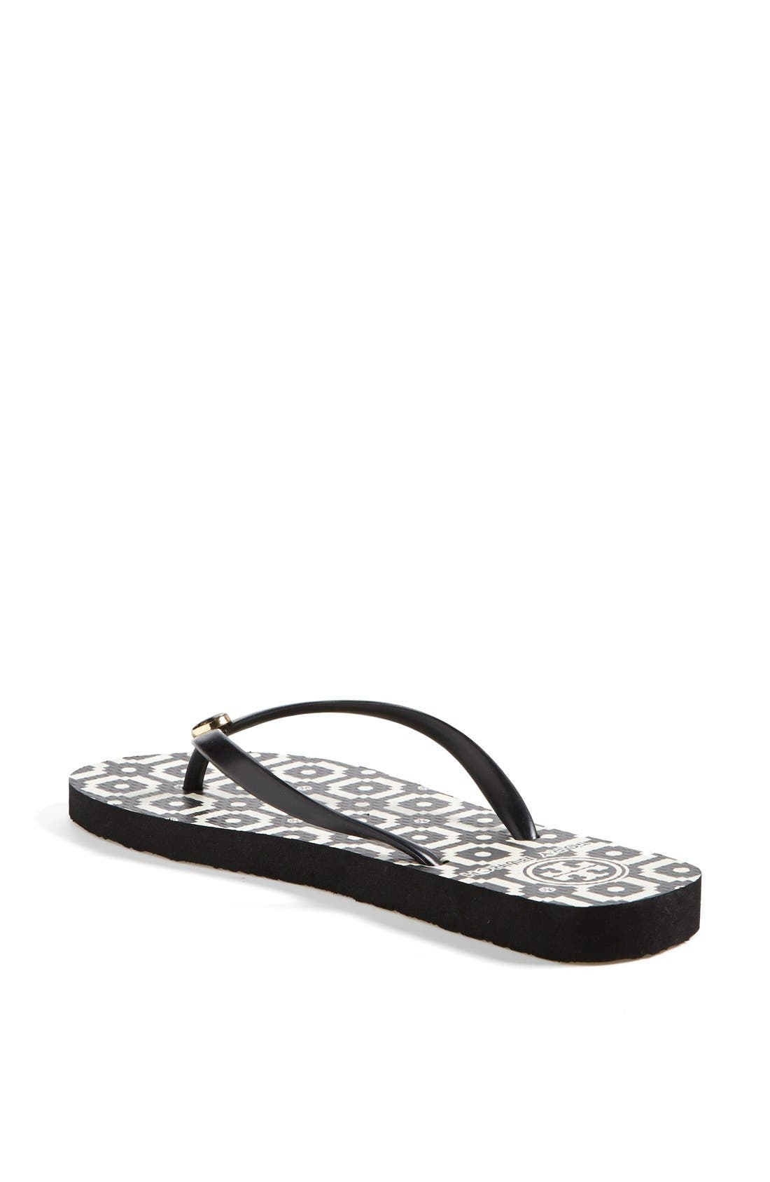Alternate Image 3  - Tory Burch Print Flip Flop