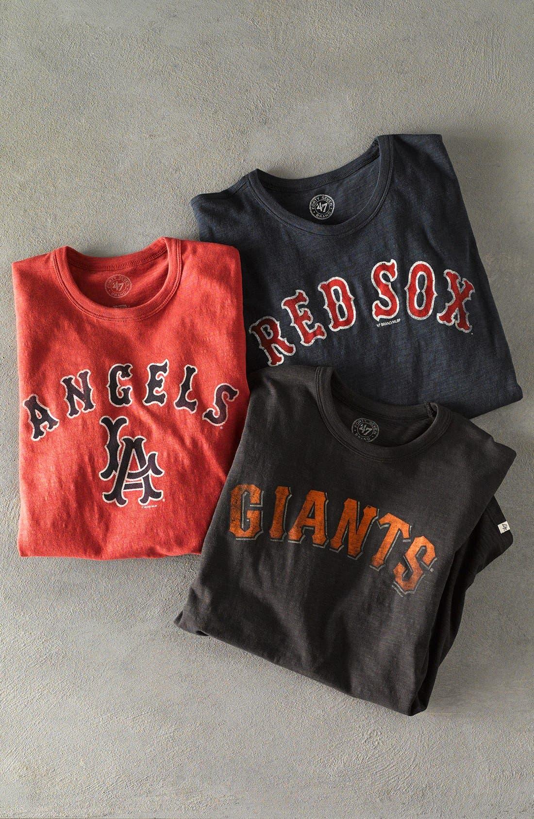 Alternate Image 4  - '47 'San Francisco Giants - Scrum' Graphic T-Shirt