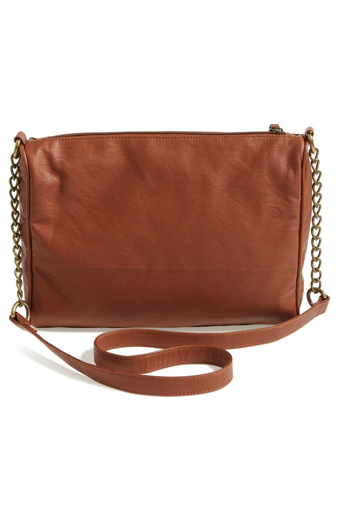 Alternate Image 4  - KENDALL + KYLIE Madden Girl Zip Detail Crossbody Bag (Juniors)