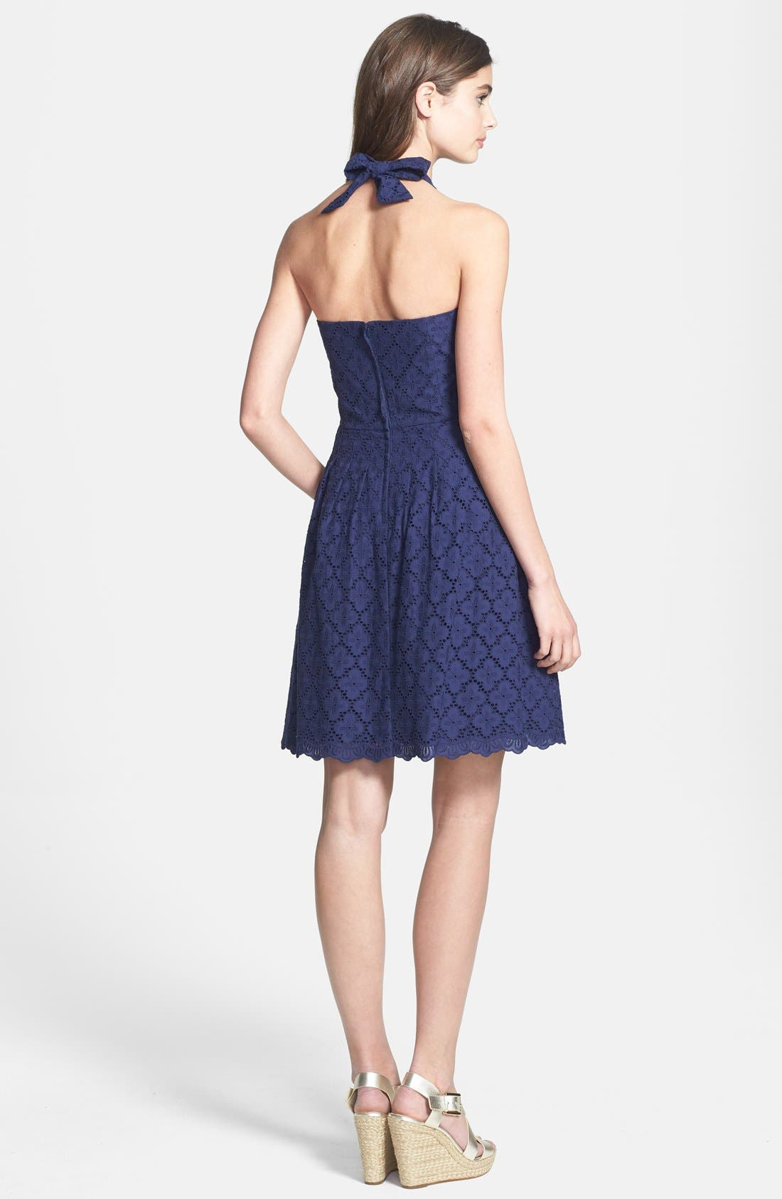 Alternate Image 2  - Lilly Pulitzer 'Ross' Lace Halter Dress