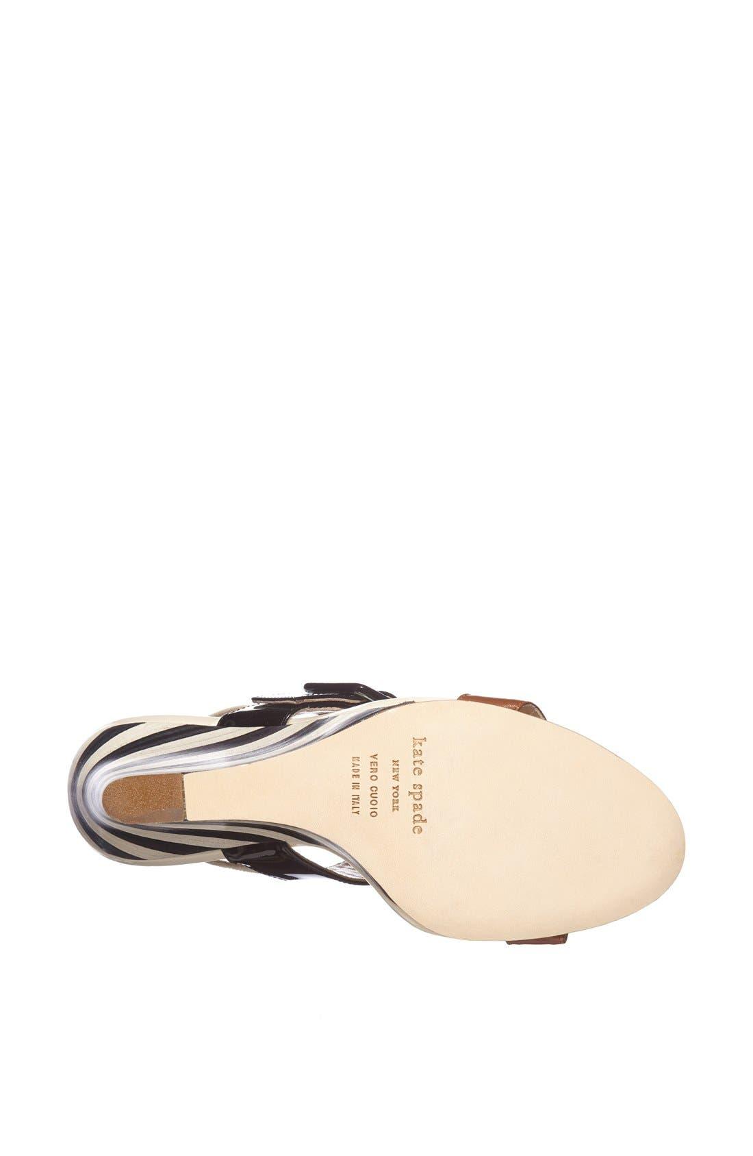 Alternate Image 4  - kate spade new york 'isola' wedge sandal