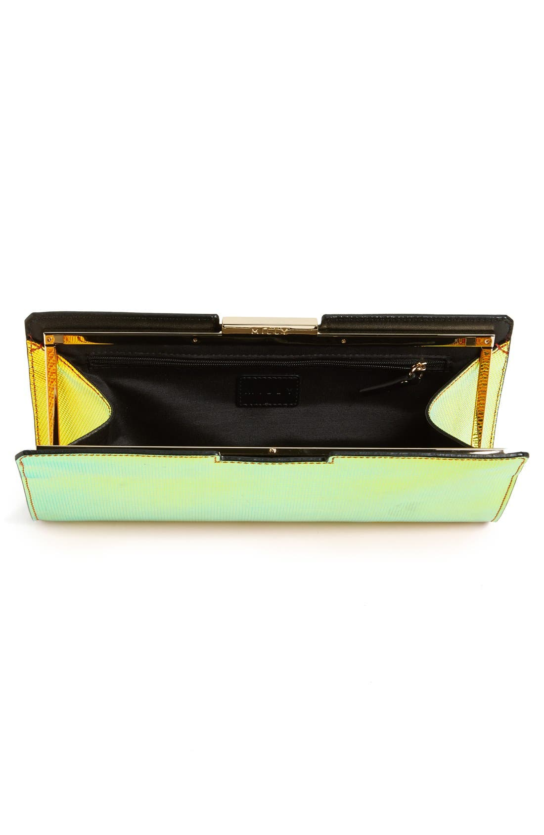 Alternate Image 3  - Milly 'Crosby' Iridescent Frame Clutch