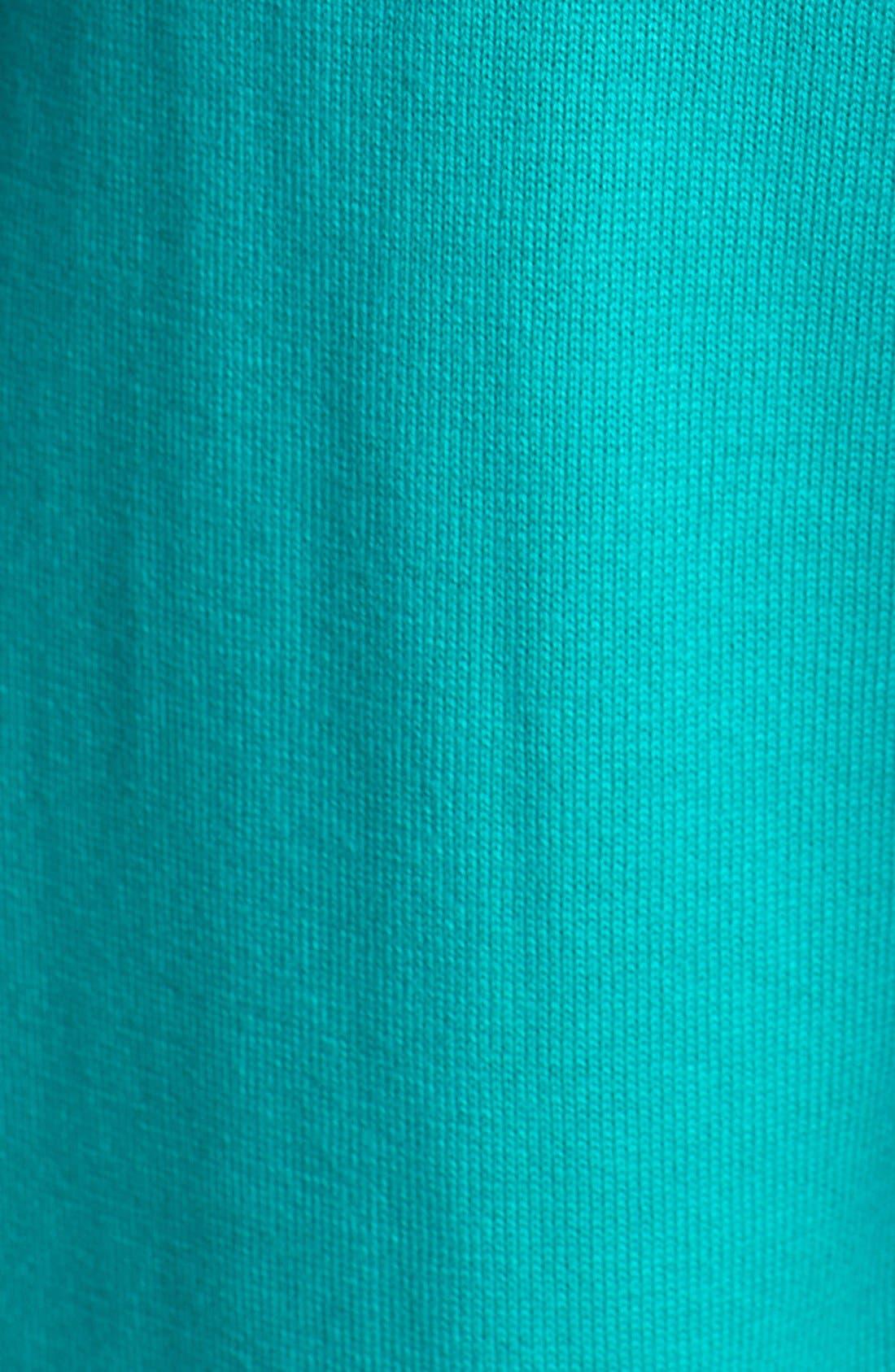 Alternate Image 3  - Vince Camuto Colorblock Cotton Blend Sweater (Petite)