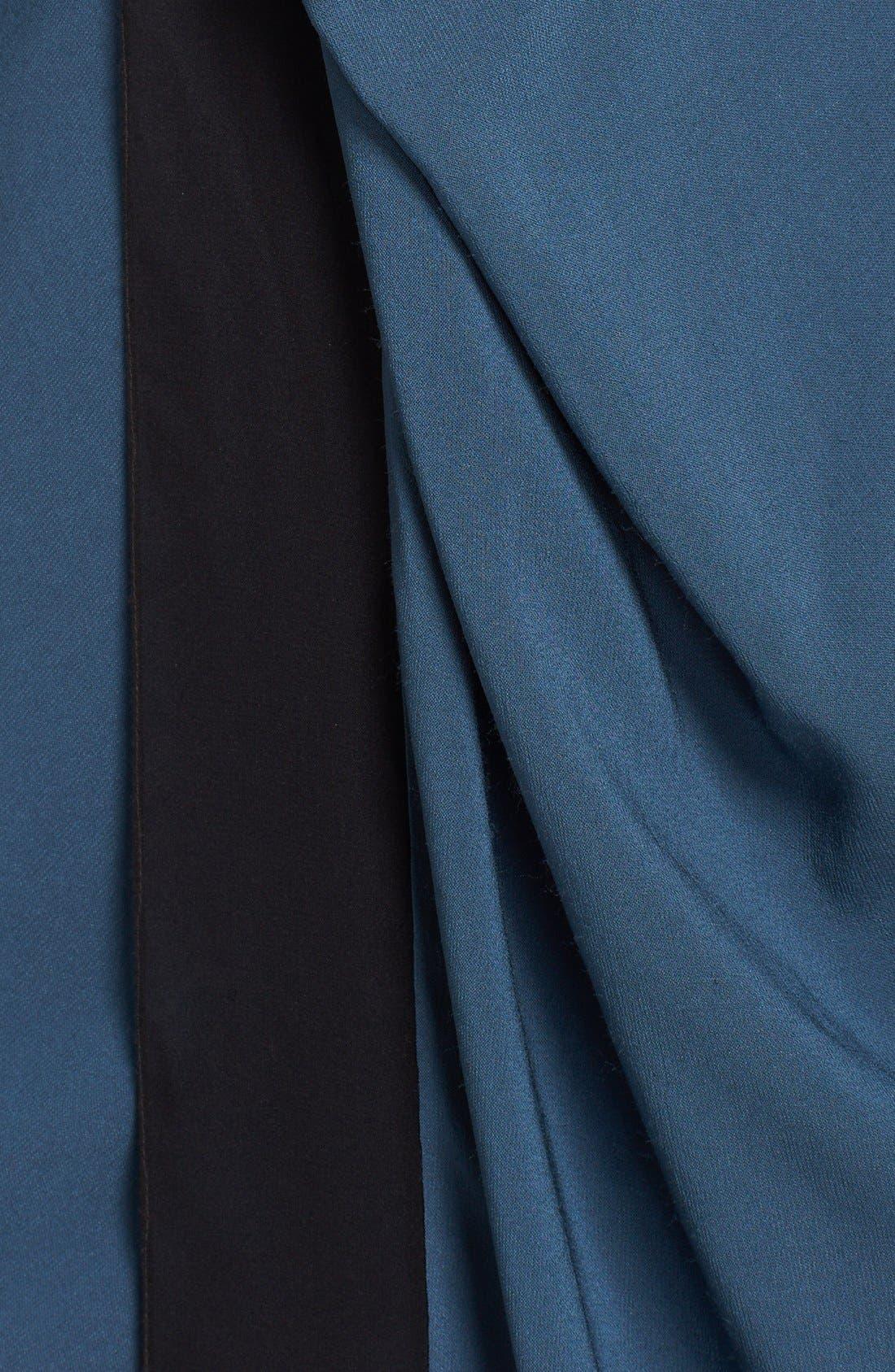 Alternate Image 3  - Donna Karan New York Two-Tone Crepe Dress