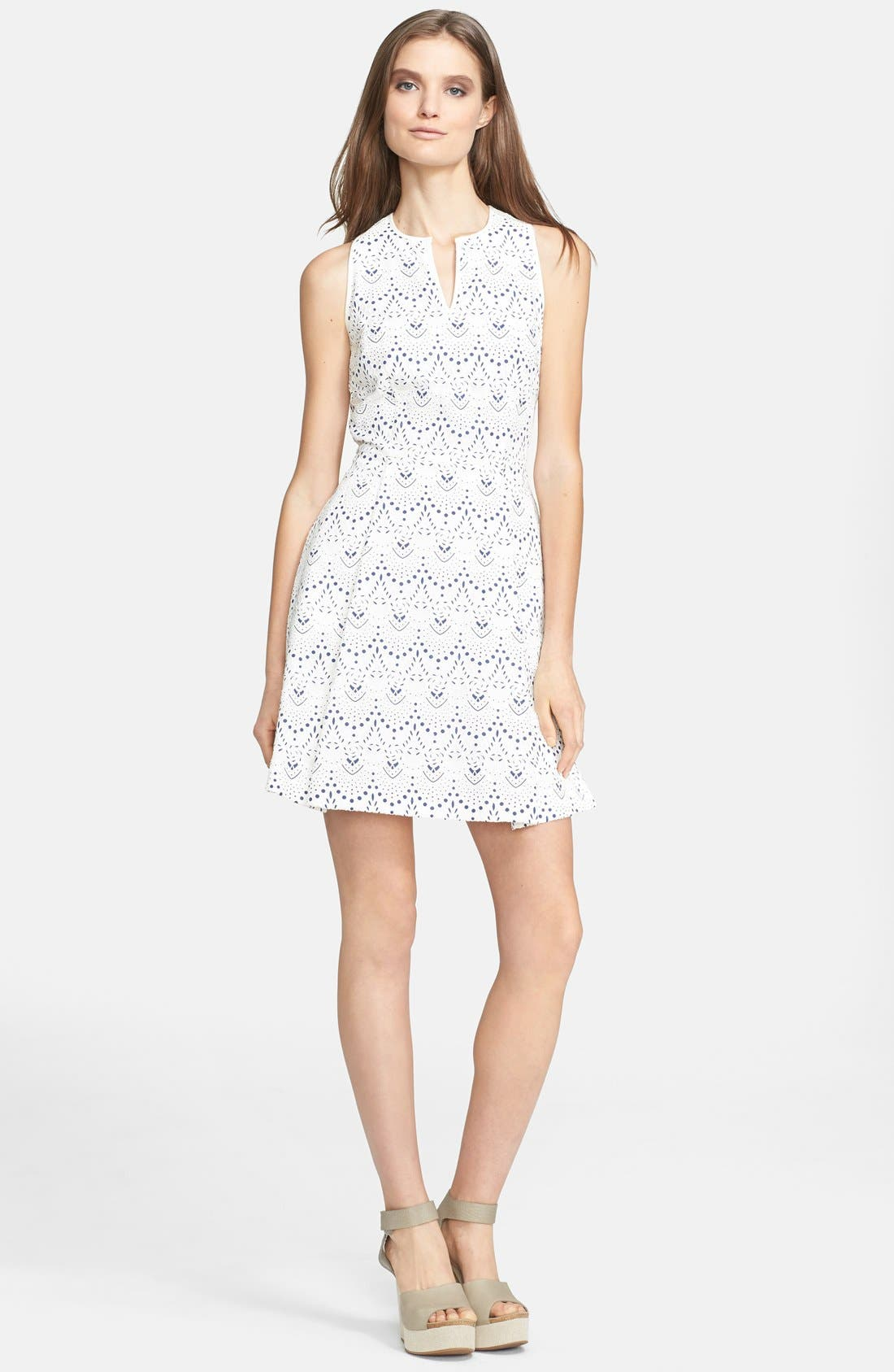 Main Image - Mcginn 'Kara' Lace Fit & Flare Dress
