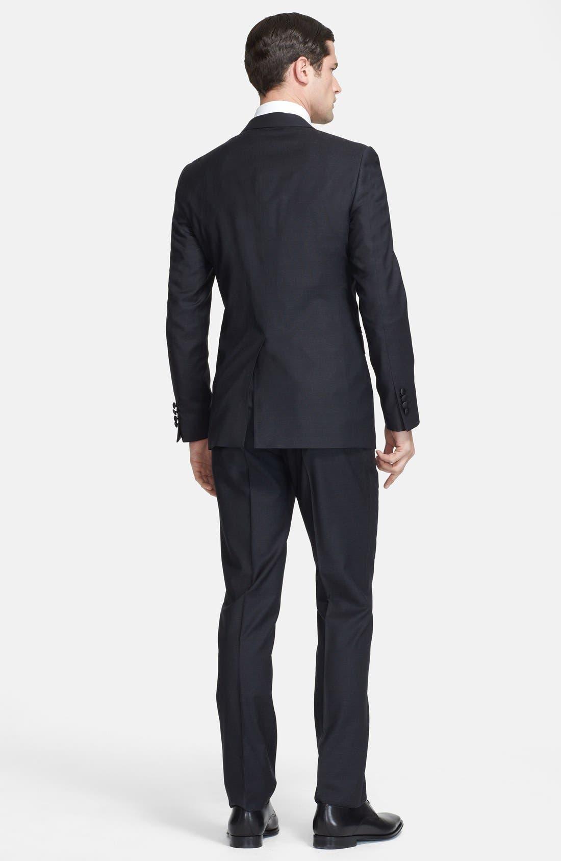 Alternate Image 2  - Lanvin 'Attitude' Black Wool Tuxedo