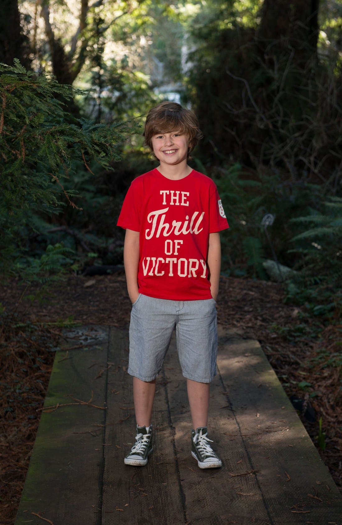 Alternate Image 3  - Peek 'Thrill of Victory' T-Shirt (Toddler Boys, Little Boys & Big Boys)