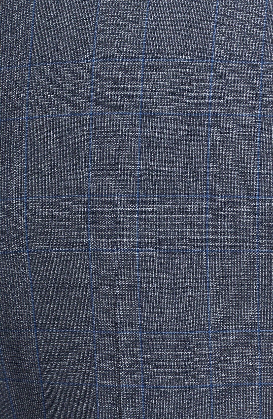 Alternate Image 5  - Burberry London 'Canbury' Glen Plaid Virgin Wool Suit