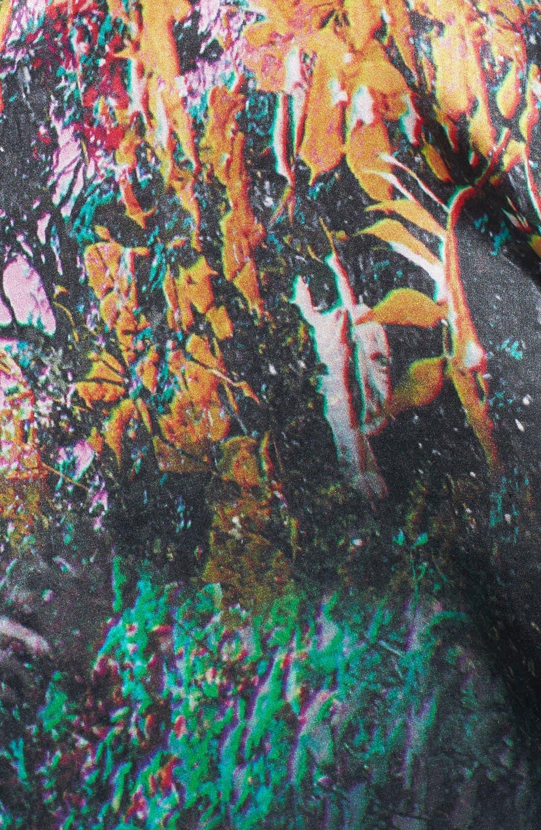 Alternate Image 2  - Ted Baker London 'Misty' Draped Silk Vest