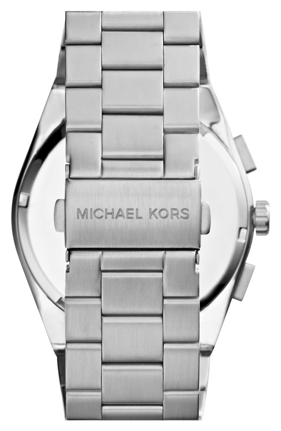 Alternate Image 2  - Michael Kors 'Channing' Chronograph Bracelet Watch, 43mm