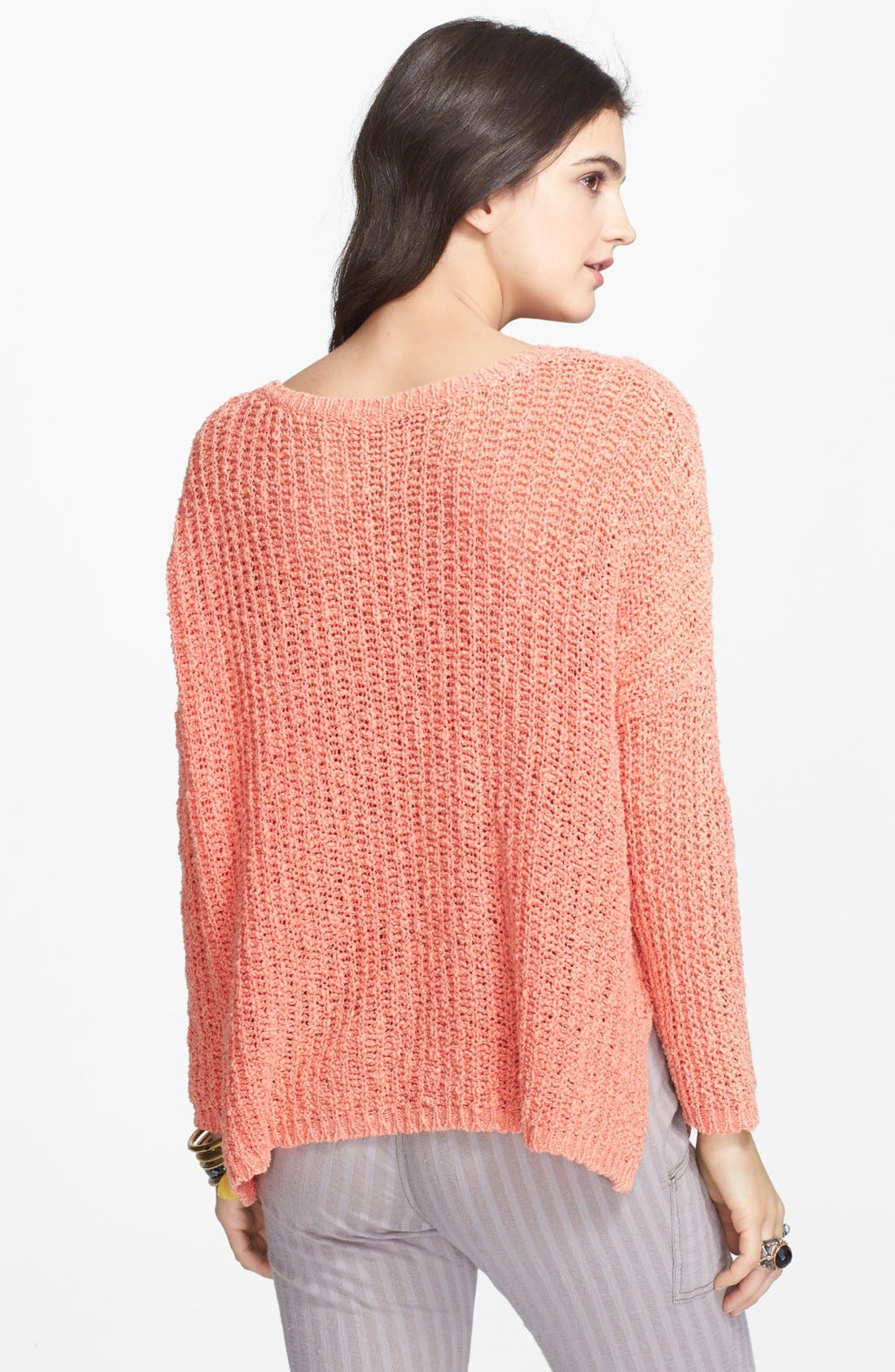 Alternate Image 2  - Free People 'Greenwich' Cotton Pullover