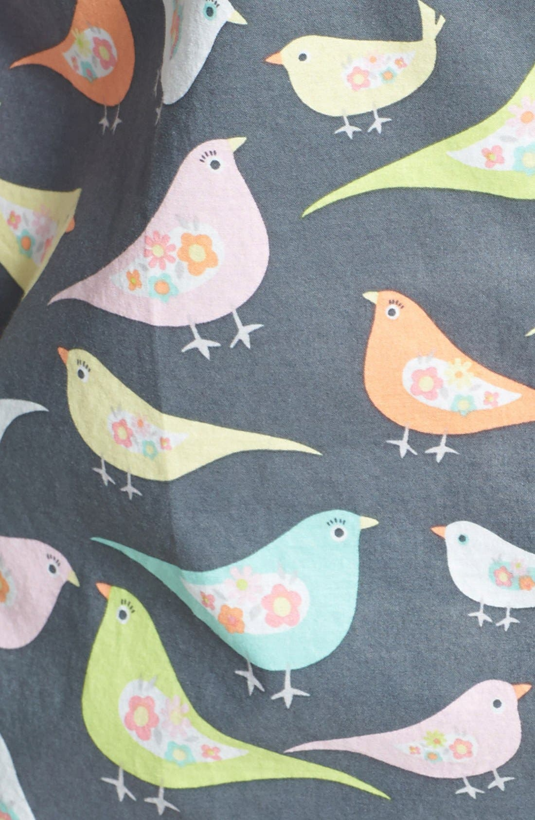 Alternate Image 3  - PJ Salvage 'Playful Prints' Cotton Voile Pajamas (Plus Size)