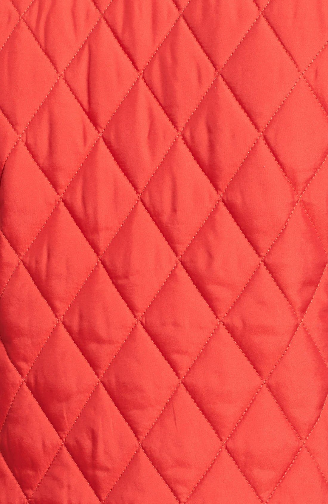 Alternate Image 3  - London Fog Four-Pocket Quilted Jacket