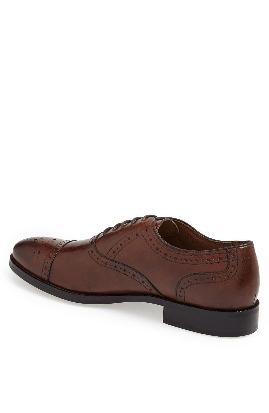 Alternate Image 2  - Johnston & Murphy 'Tyndall' Cap Toe Oxford (Online Only)