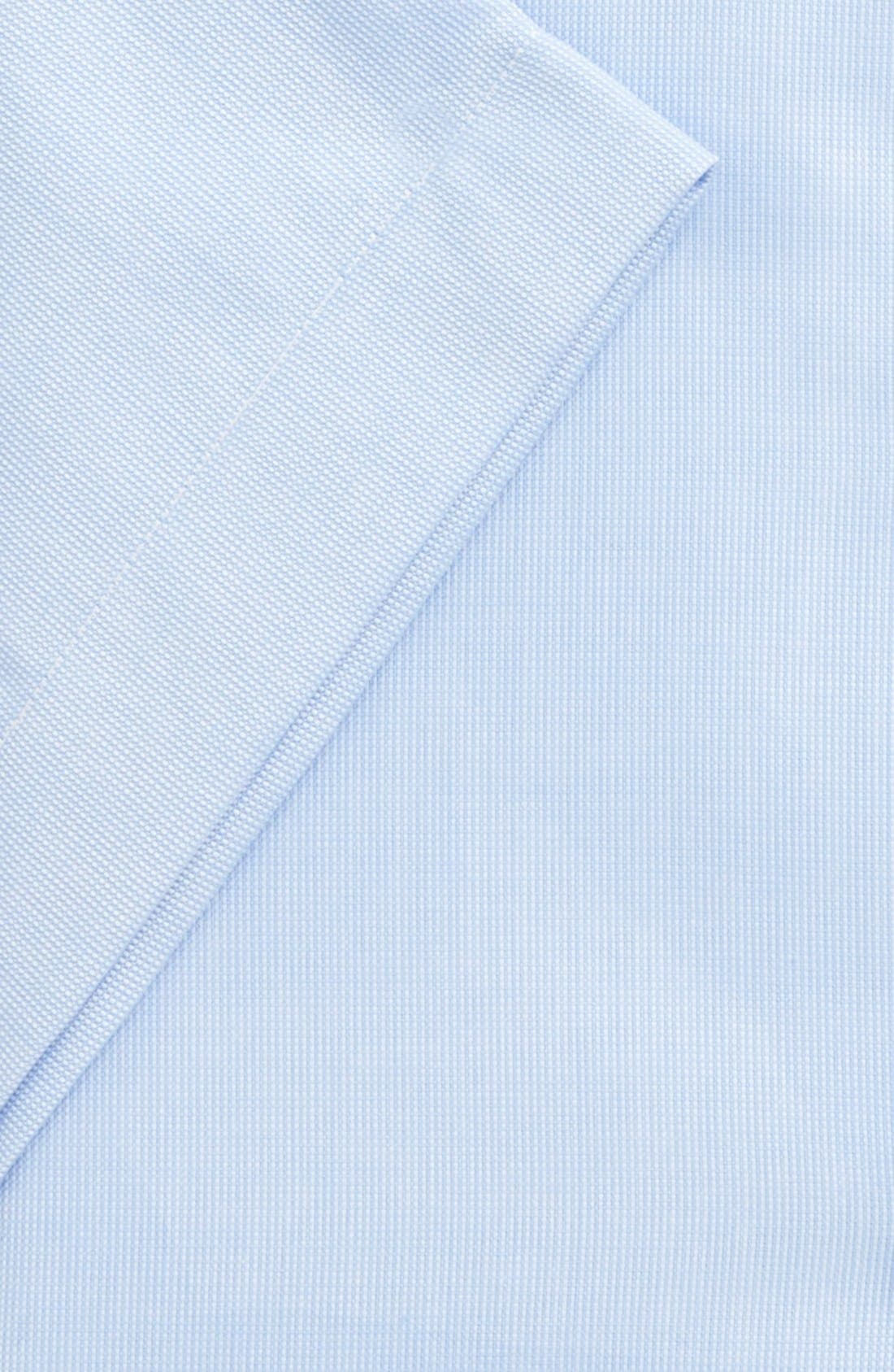 Alternate Image 4  - Nordstrom Men's Shop Traditional Fit Non-Iron Short Sleeve Dress Shirt (Online Only)