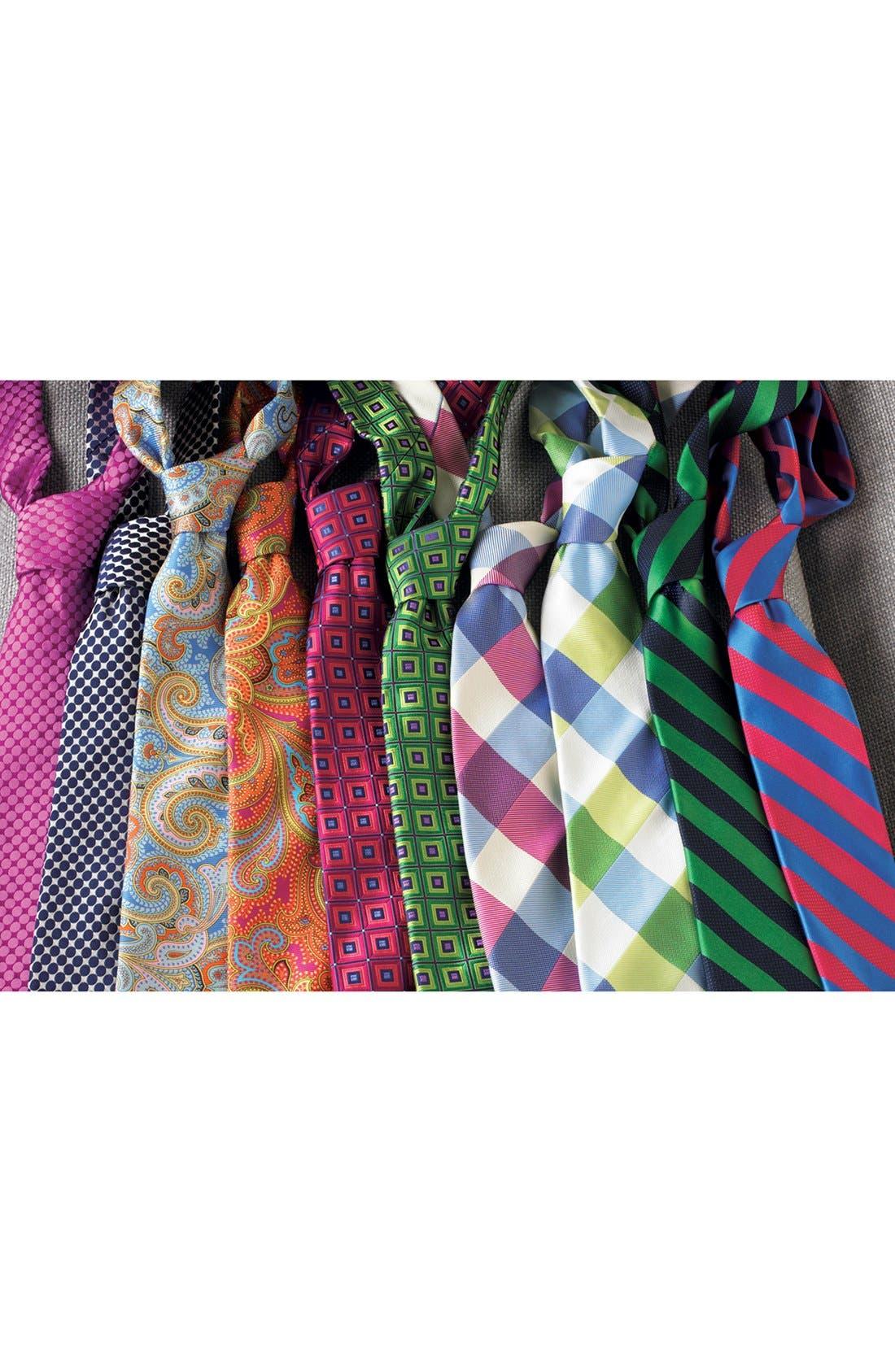 Woven Silk Tie,                             Alternate thumbnail 3, color,