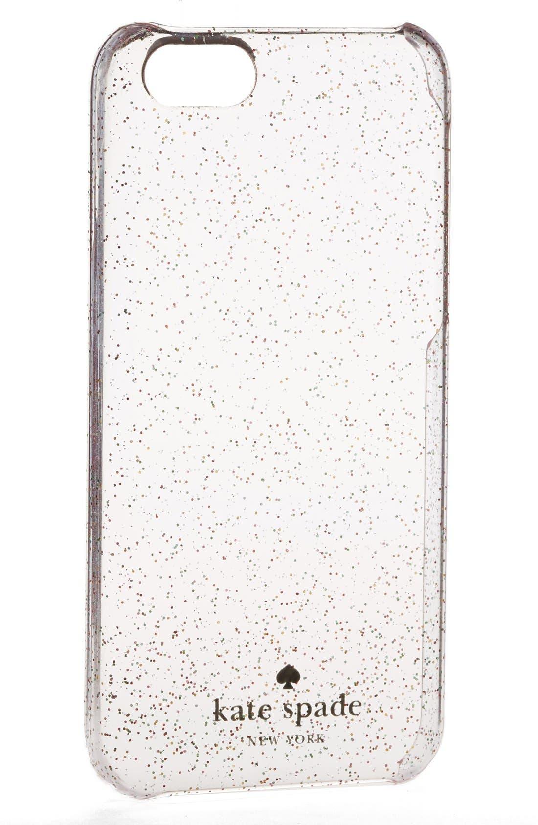 Alternate Image 2  - kate spade new york 'glitter' iPhone 5c case