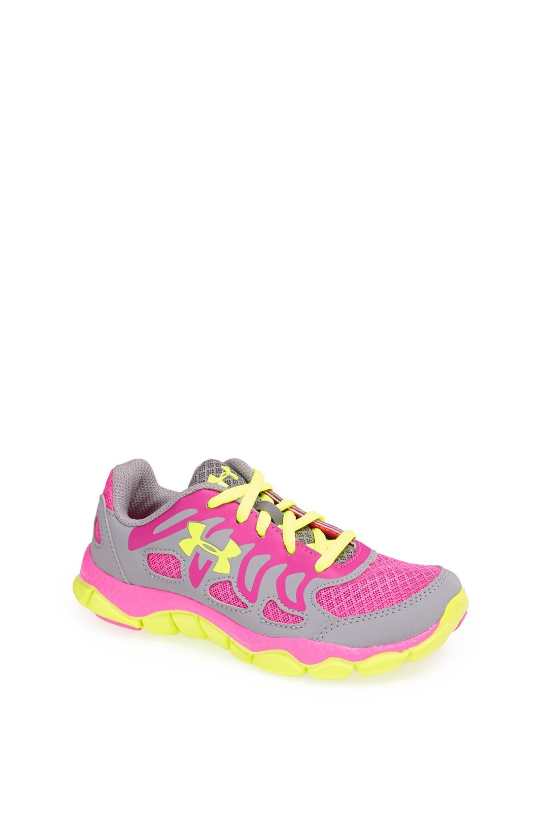 Alternate Image 1 Selected - Under Armour 'Engage' Running Shoe (Toddler & Little Kid)