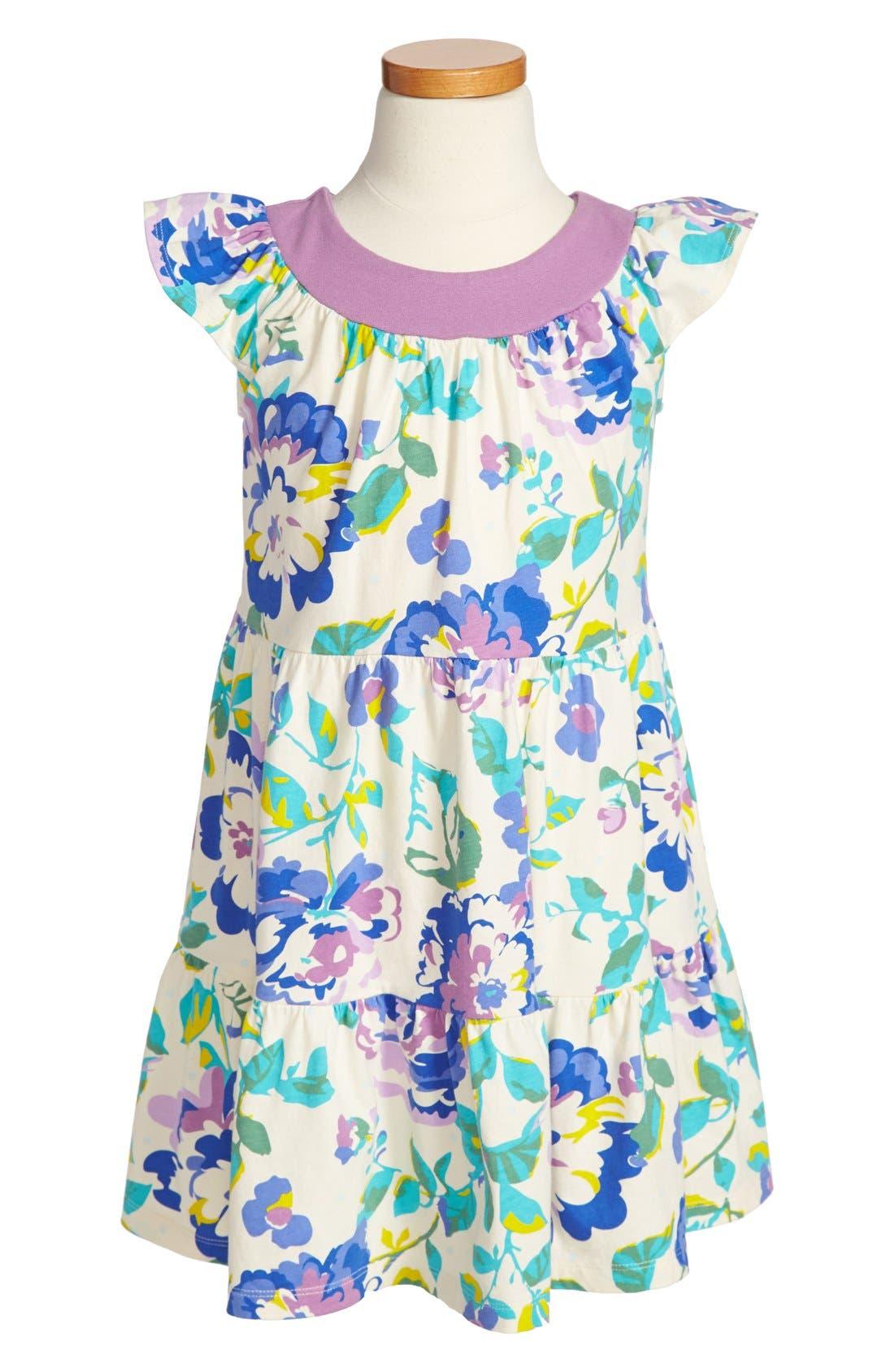 Alternate Image 1 Selected - Tea Collection 'Desert Rose' Twirl Dress (Toddler Girls, Little Girls & Big Girls)