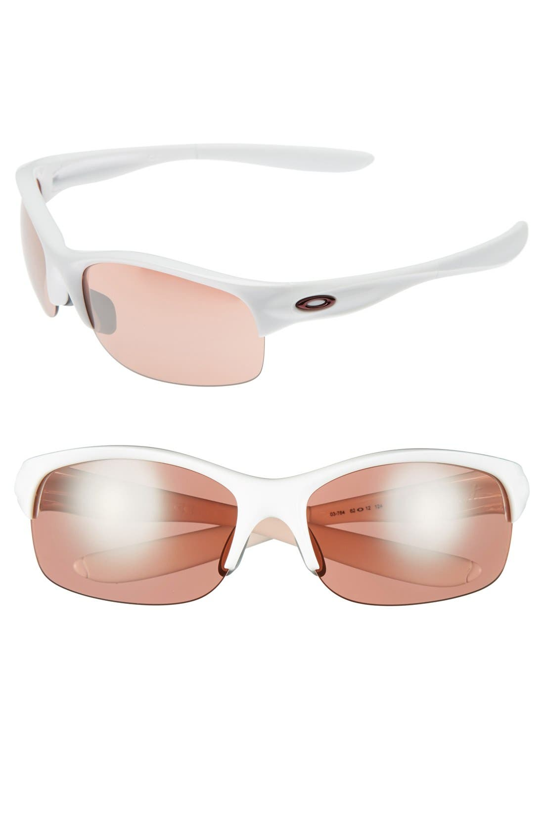 Alternate Image 1 Selected - Oakley 'Commit' 62mm Sunglasses